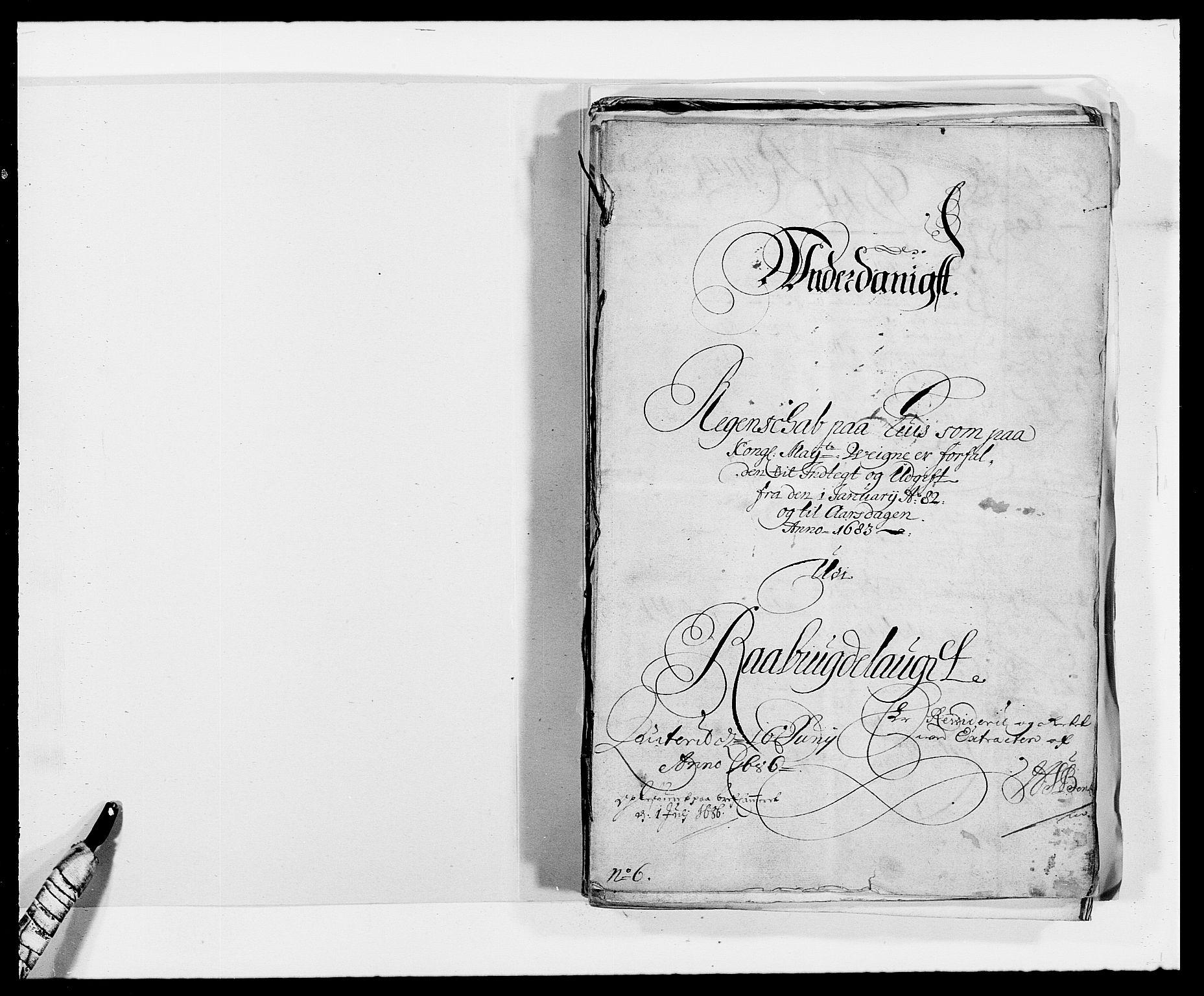 RA, Rentekammeret inntil 1814, Reviderte regnskaper, Fogderegnskap, R40/L2438: Fogderegnskap Råbyggelag, 1682-1683, s. 2