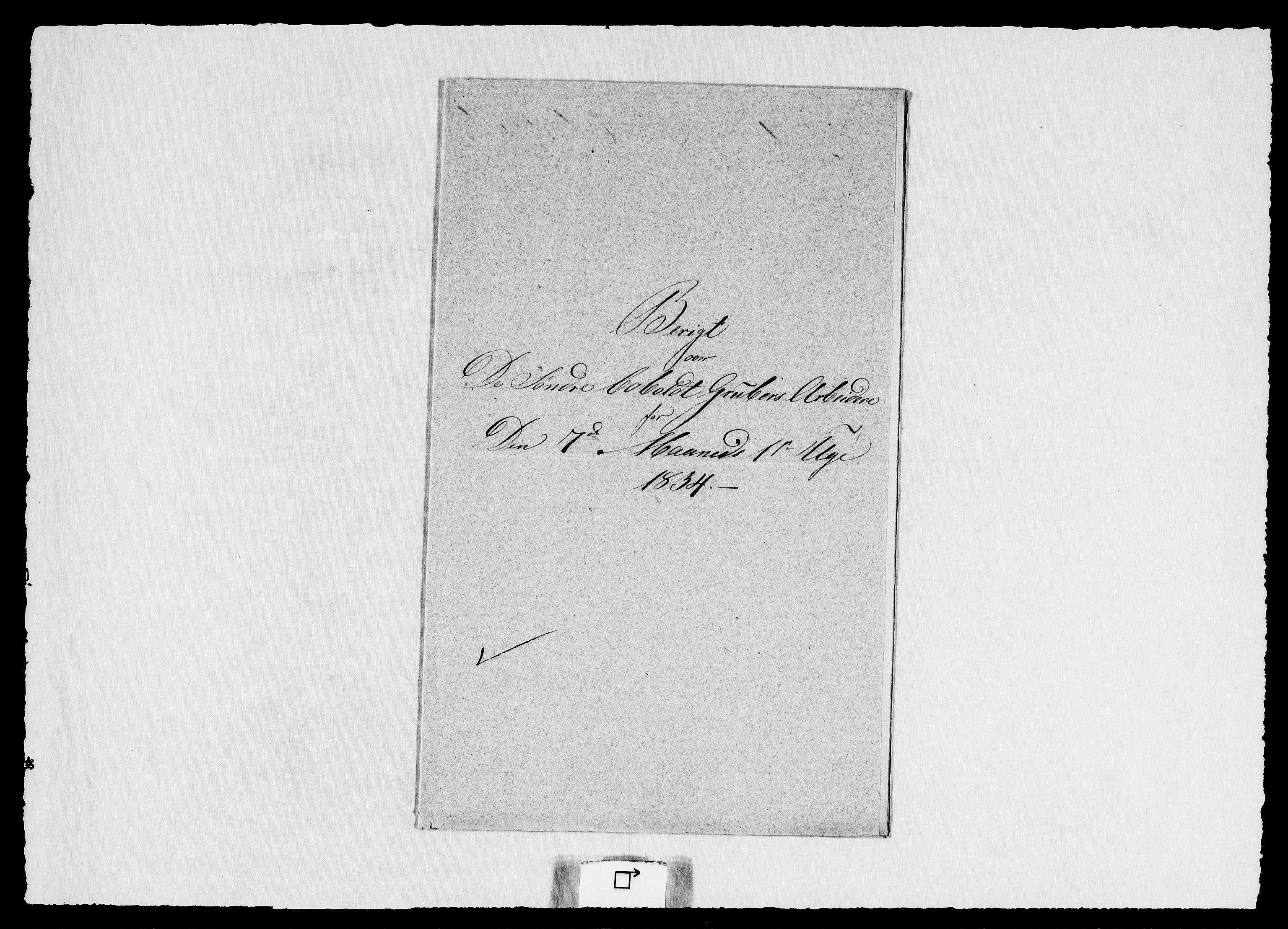 RA, Modums Blaafarveværk, G/Ge/L0345, 1834, s. 2