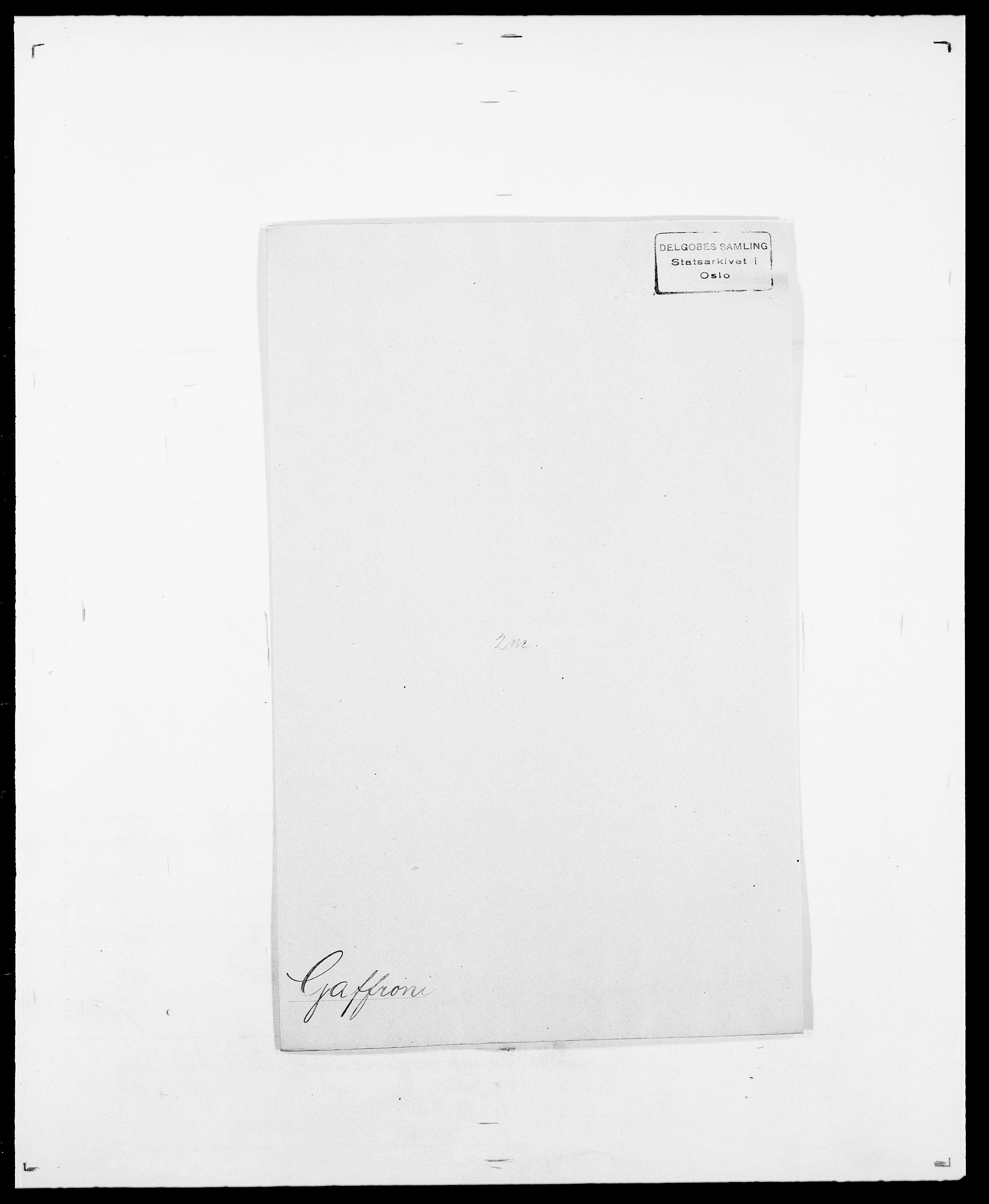 SAO, Delgobe, Charles Antoine - samling, D/Da/L0013: Forbos - Geving, s. 395