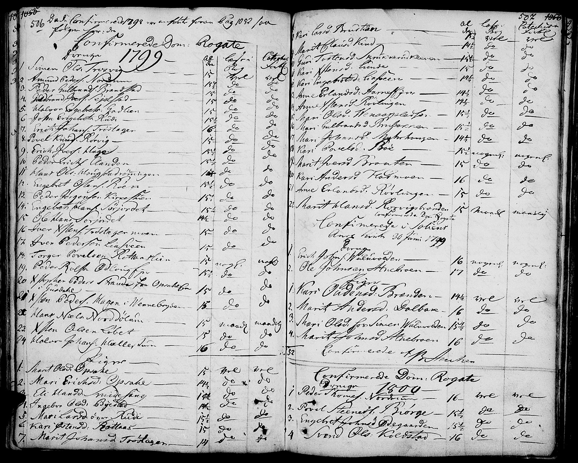 SAH, Ringebu prestekontor, Ministerialbok nr. 3, 1781-1820, s. 506-507