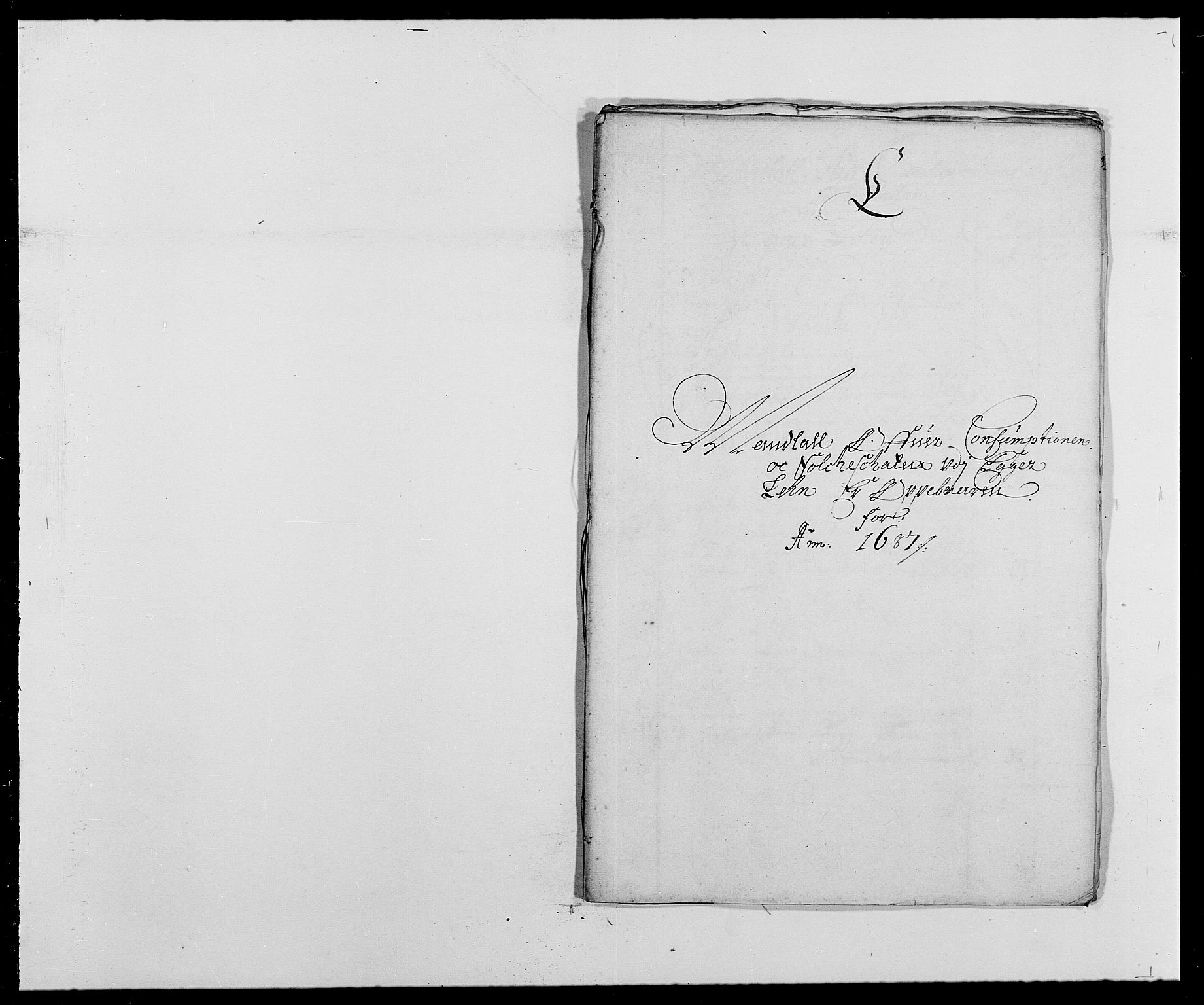 RA, Rentekammeret inntil 1814, Reviderte regnskaper, Fogderegnskap, R28/L1688: Fogderegnskap Eiker og Lier, 1687-1689, s. 127