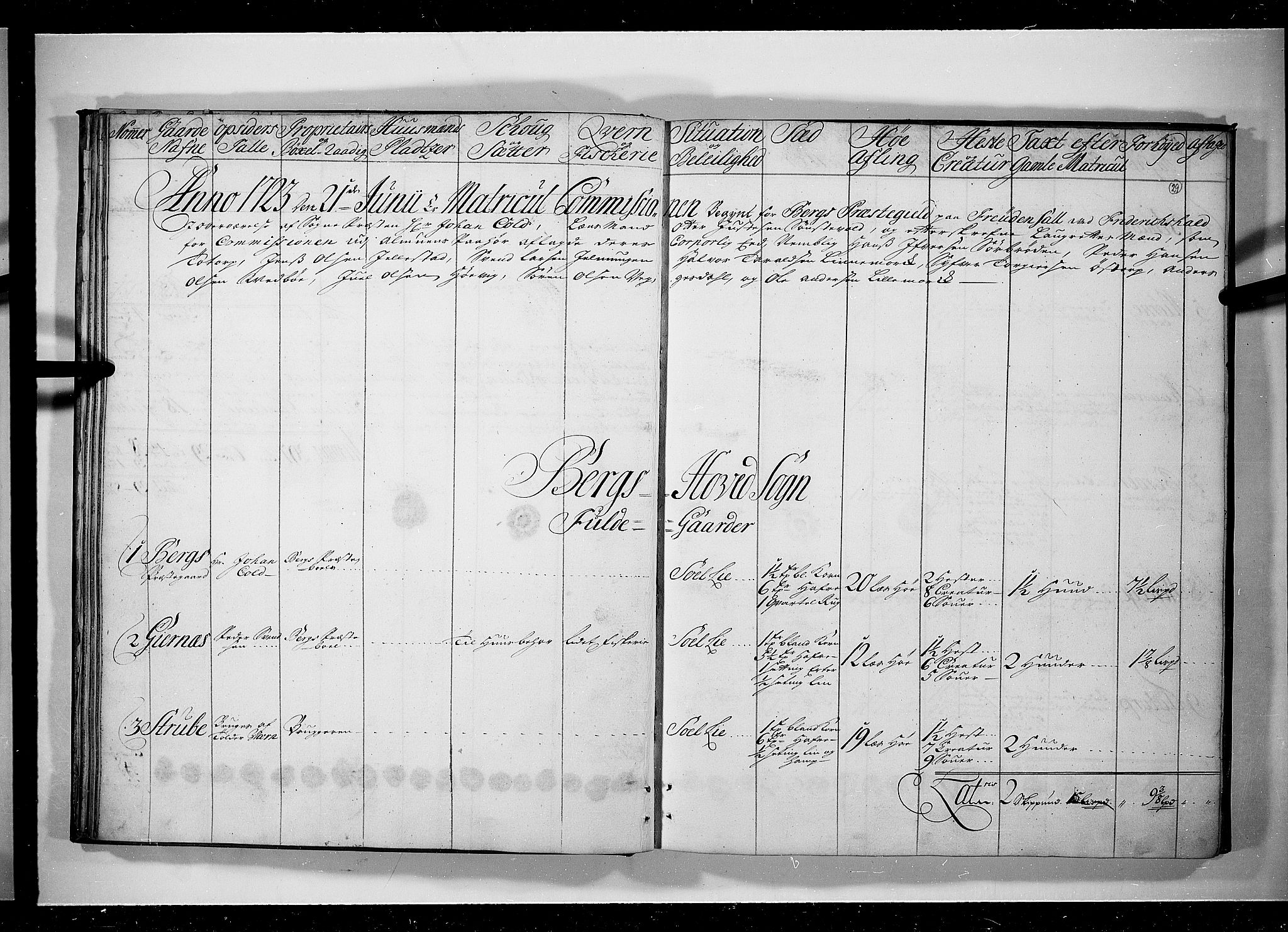RA, Rentekammeret inntil 1814, Realistisk ordnet avdeling, N/Nb/Nbf/L0097: Idd og Marker eksaminasjonsprotokoll, 1723, s. 28b-29a