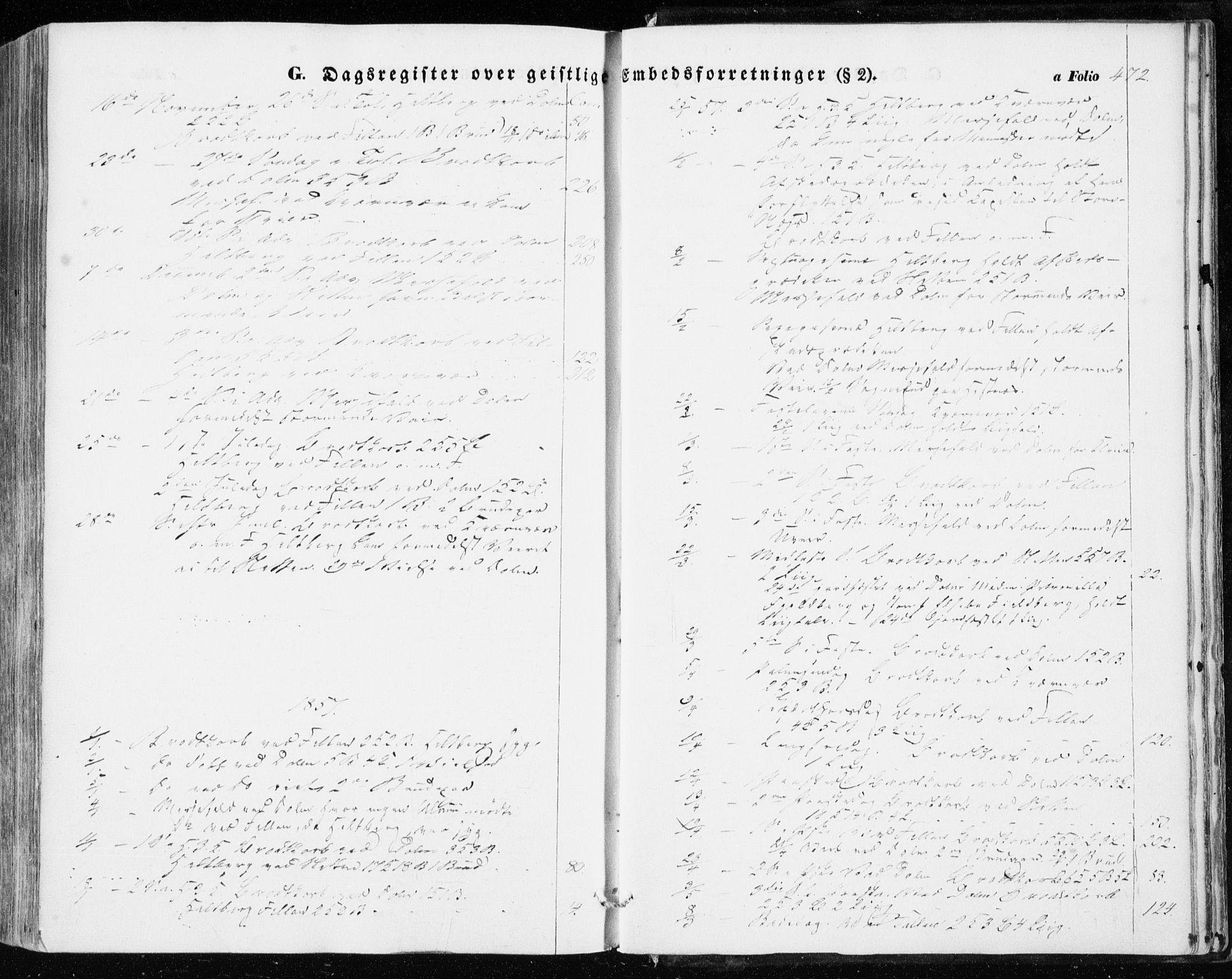 SAT, Ministerialprotokoller, klokkerbøker og fødselsregistre - Sør-Trøndelag, 634/L0530: Ministerialbok nr. 634A06, 1852-1860, s. 472