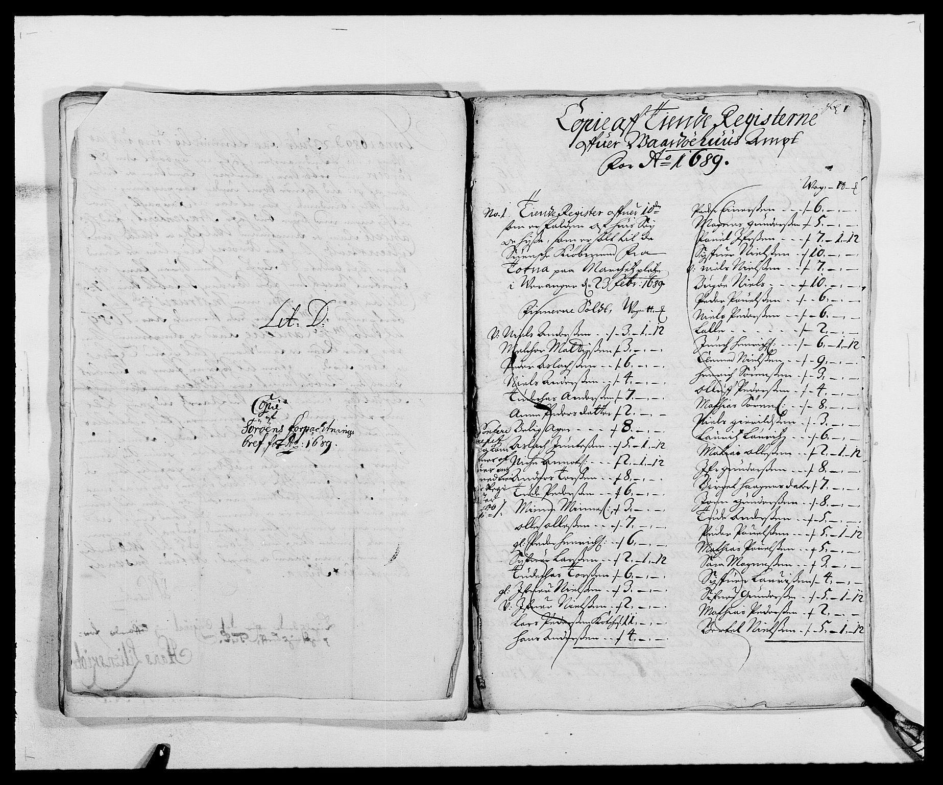 RA, Rentekammeret inntil 1814, Reviderte regnskaper, Fogderegnskap, R69/L4850: Fogderegnskap Finnmark/Vardøhus, 1680-1690, s. 147