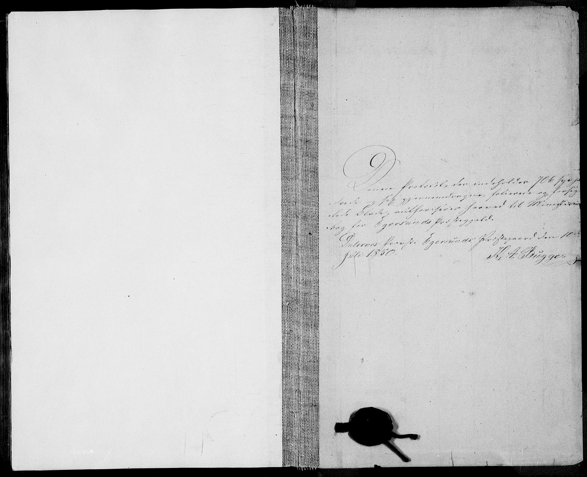 SAST, Egersund sokneprestkontor, Ministerialbok nr. A 12.2, 1850-1865