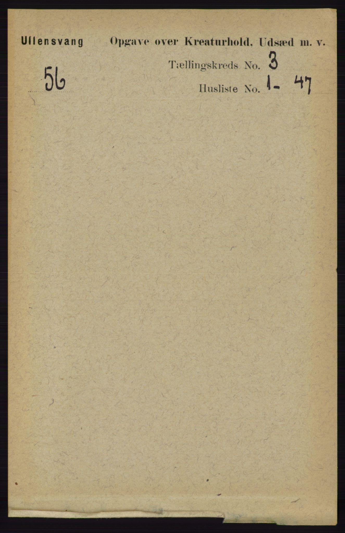 RA, Folketelling 1891 for 1230 Ullensvang herred, 1891, s. 6810