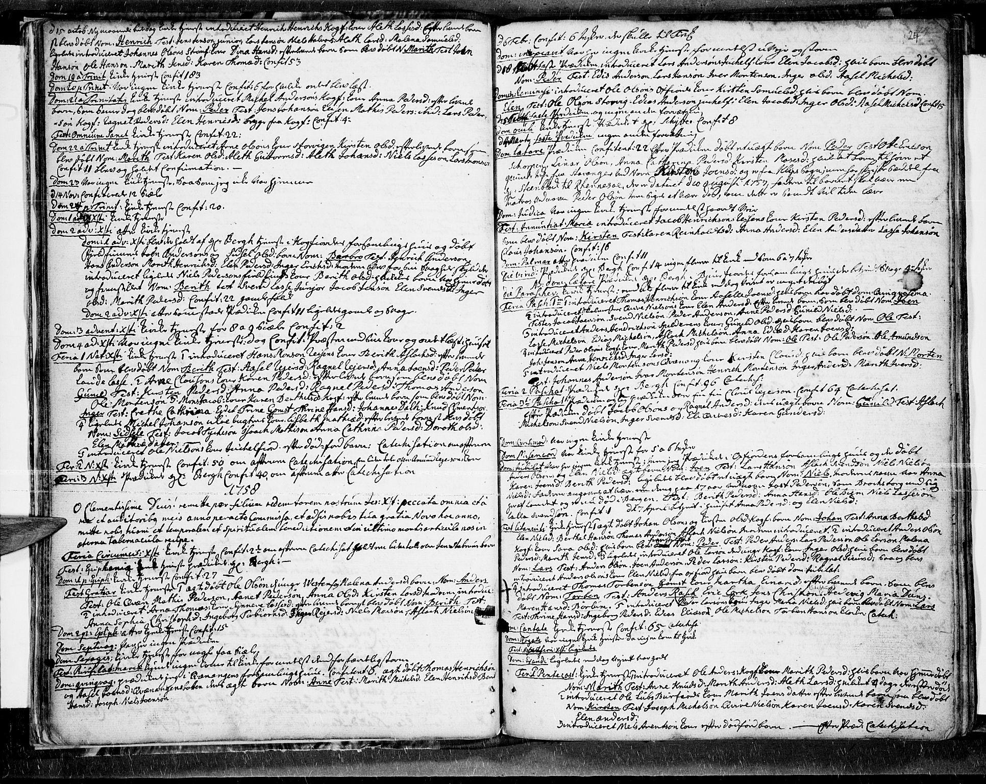SATØ, Skjervøy sokneprestkontor, H/Ha/Haa/L0001kirke: Ministerialbok nr. 1, 1748-1780, s. 24