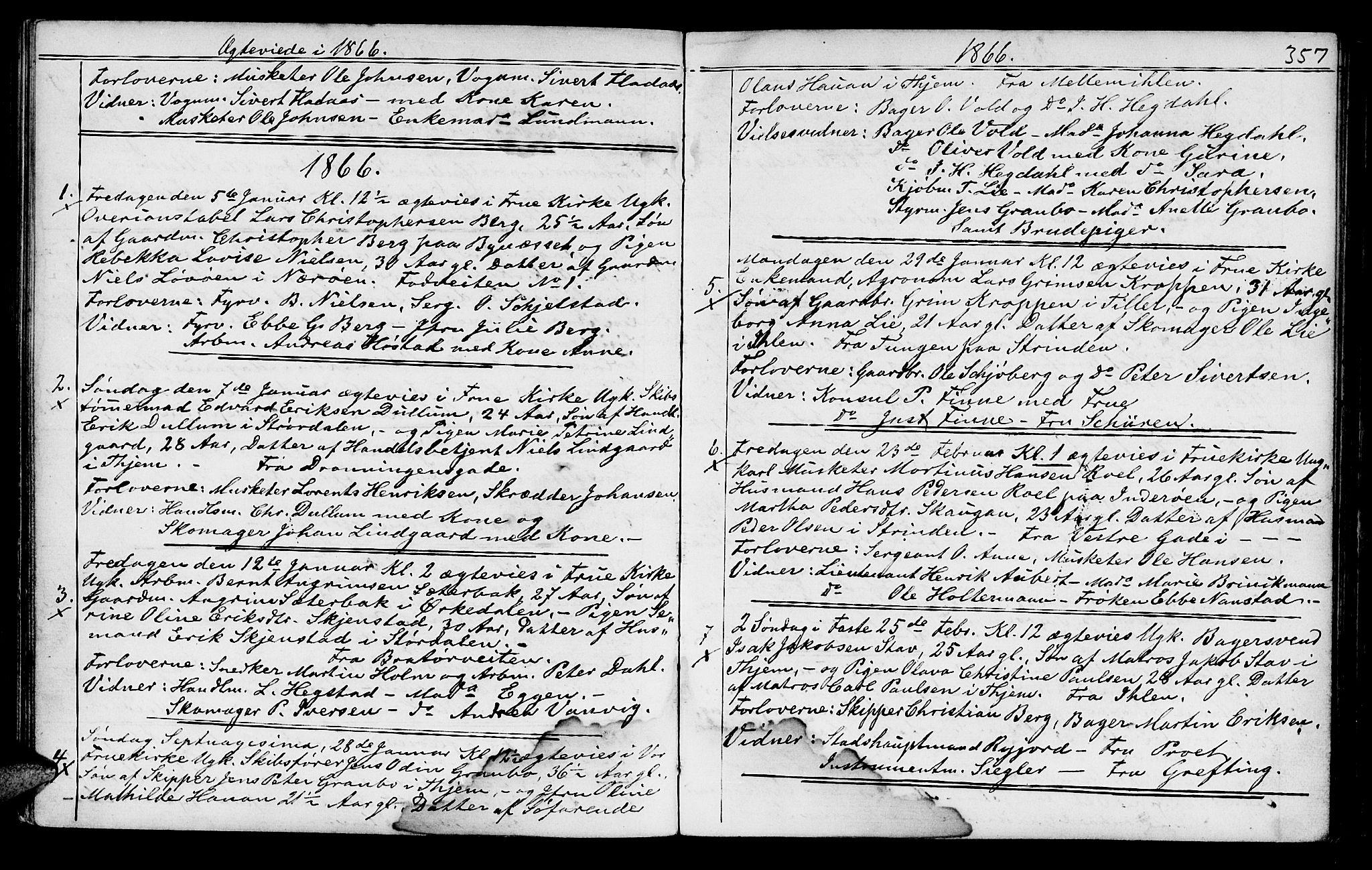 SAT, Ministerialprotokoller, klokkerbøker og fødselsregistre - Sør-Trøndelag, 602/L0140: Klokkerbok nr. 602C08, 1864-1872, s. 356-357
