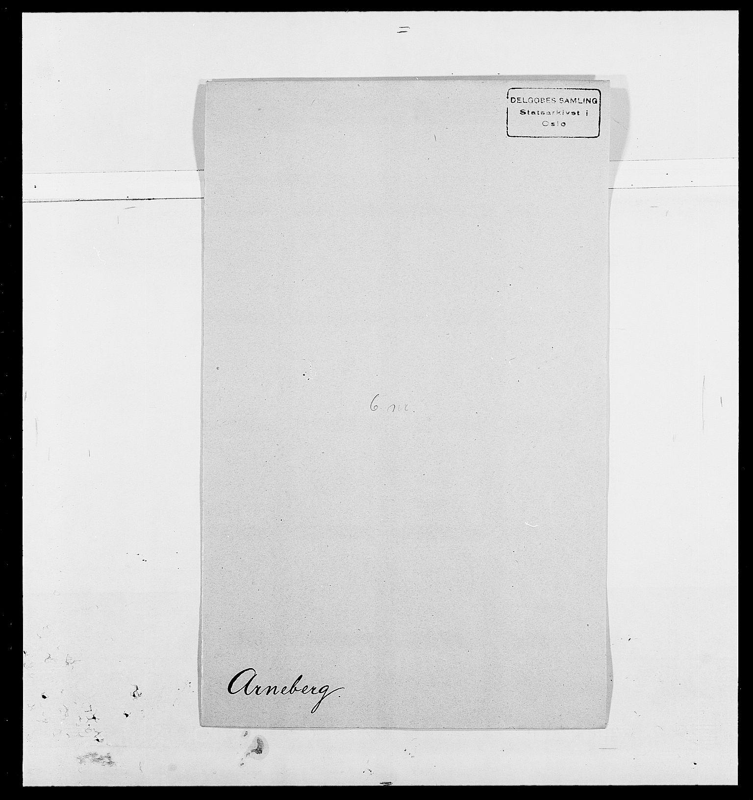 SAO, Delgobe, Charles Antoine - samling, D/Da/L0002: Anker, Ancher - Bauner, s. 317