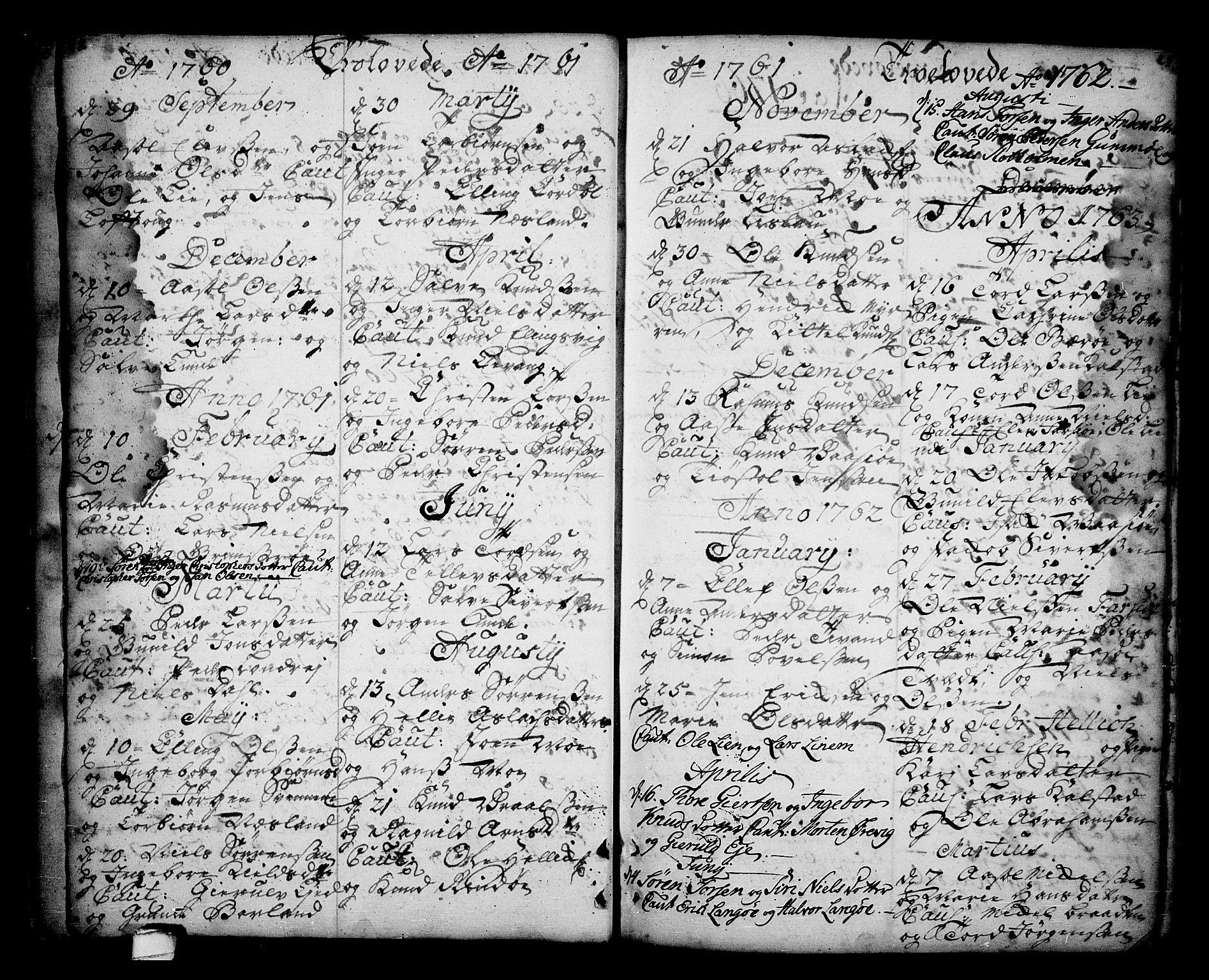 SAKO, Sannidal kirkebøker, F/Fa/L0001: Ministerialbok nr. 1, 1702-1766, s. 28-29