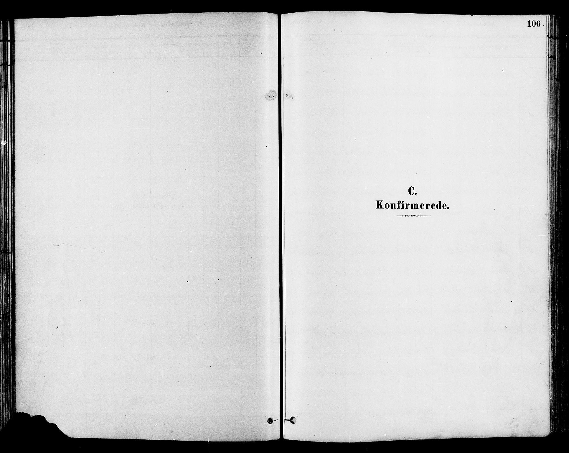 SAH, Gran prestekontor, Ministerialbok nr. 14, 1880-1889, s. 106