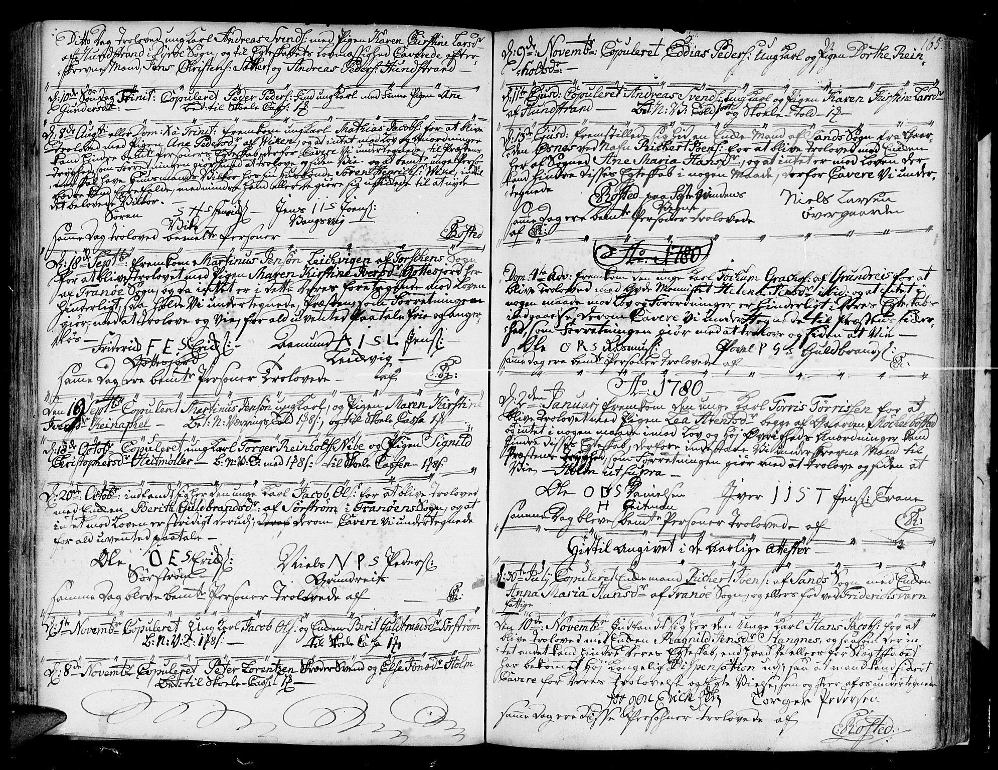 SATØ, Tranøy sokneprestkontor, I/Ia/Iaa/L0002kirke: Ministerialbok nr. 2, 1773-1806, s. 165