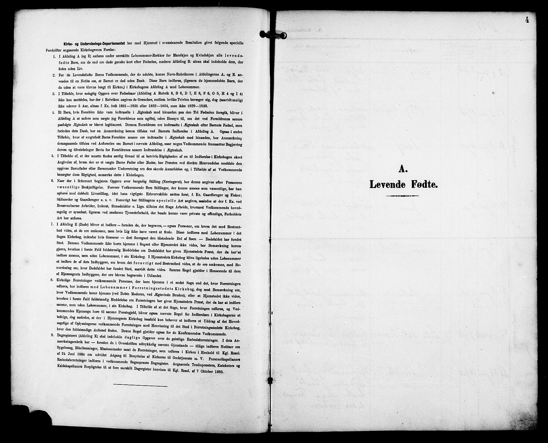SAST, St. Petri sokneprestkontor, 30/30BB/L0008: Klokkerbok nr. B 8, 1897-1905, s. 4