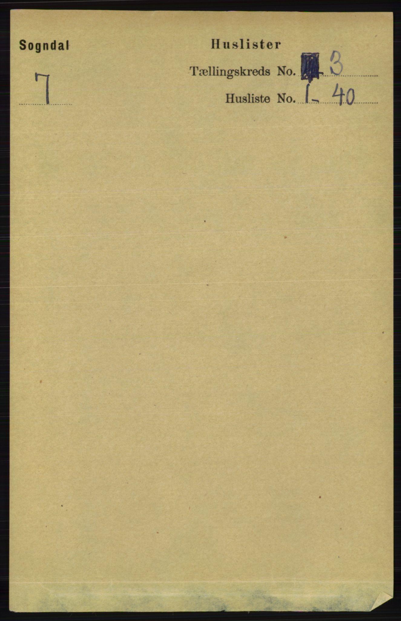 RA, Folketelling 1891 for 1111 Sokndal herred, 1891, s. 670
