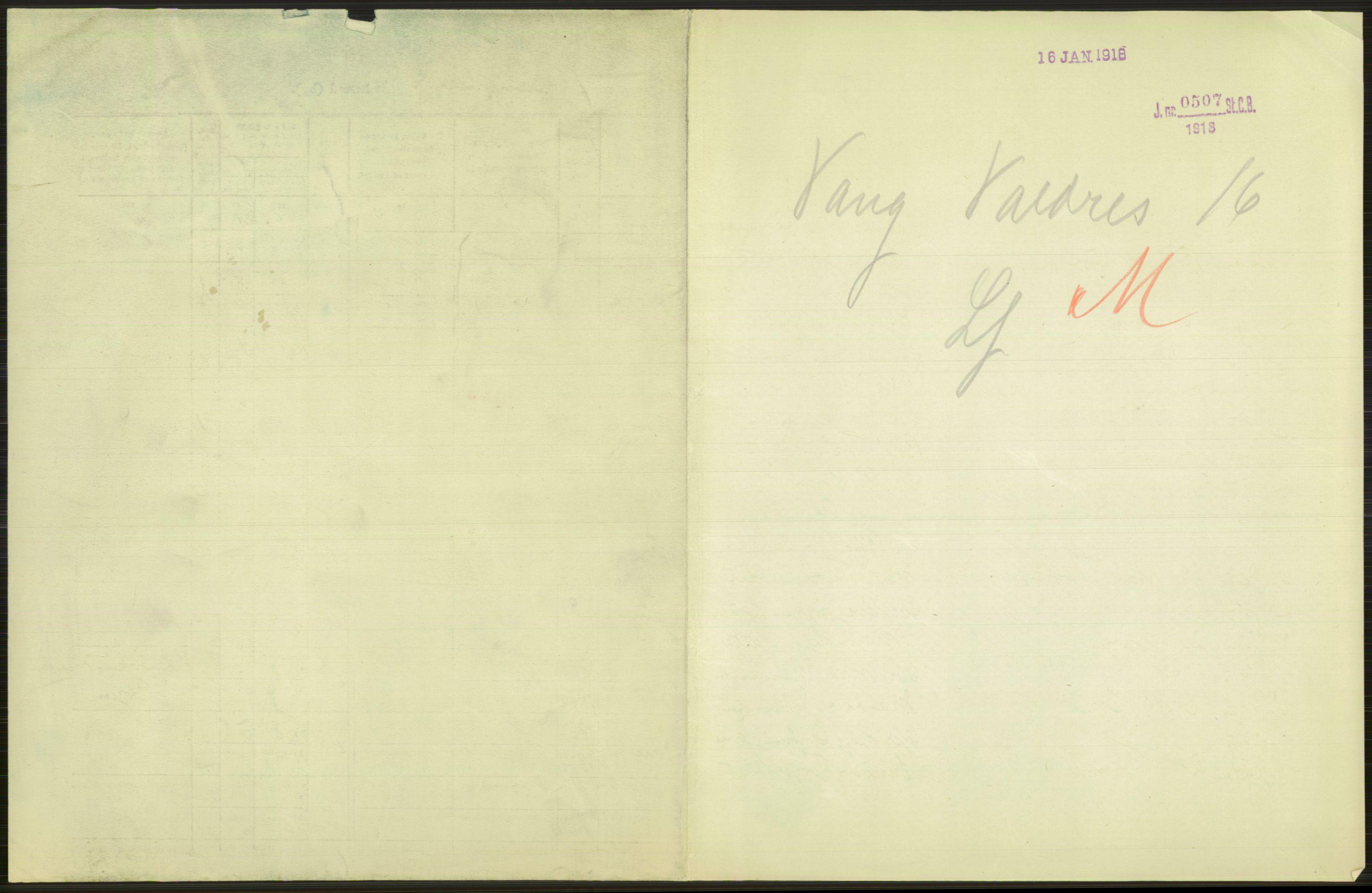 RA, Statistisk sentralbyrå, Sosiodemografiske emner, Befolkning, D/Df/Dfb/Dfbg/L0015: Kristians amt: Levendefødte menn og kvinner. Bygder., 1917