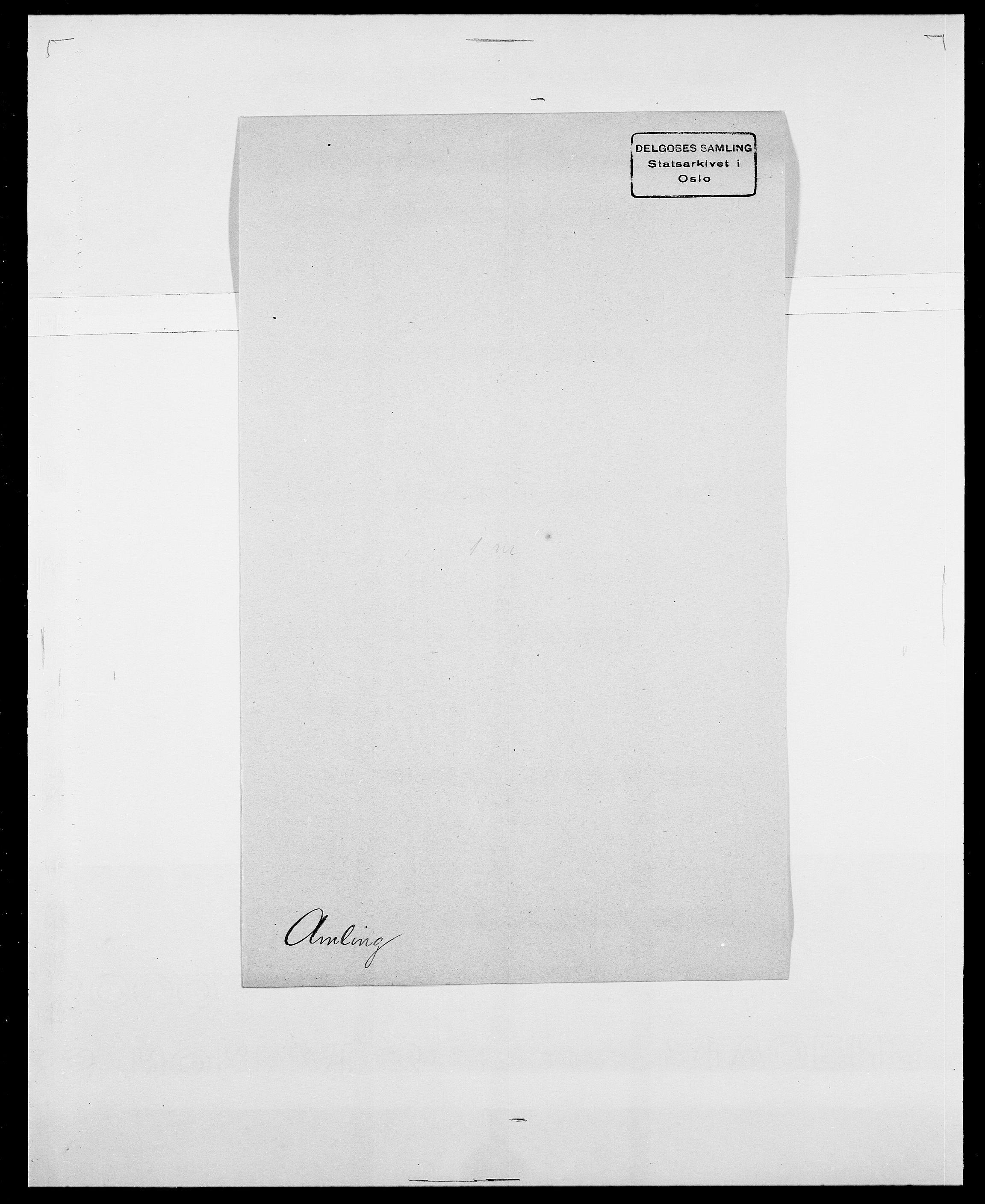 SAO, Delgobe, Charles Antoine - samling, D/Da/L0001: Aabye - Angerman, s. 542
