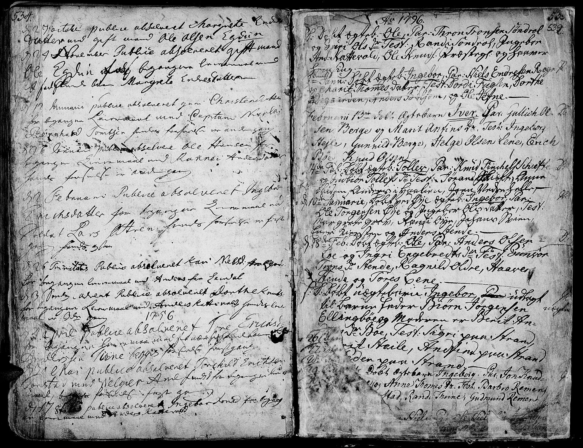 SAH, Vang prestekontor, Valdres, Ministerialbok nr. 1, 1730-1796, s. 533
