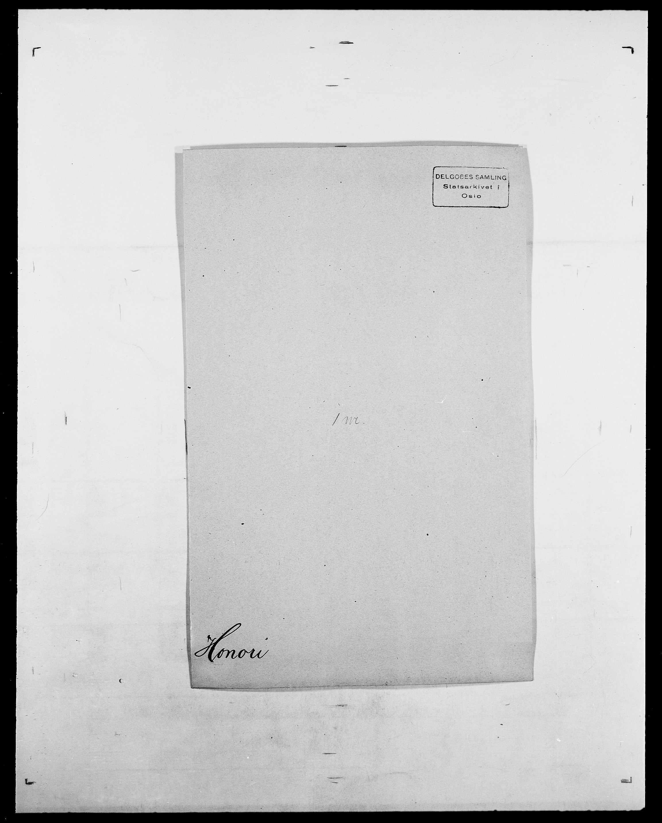 SAO, Delgobe, Charles Antoine - samling, D/Da/L0018: Hoch - Howert, s. 897