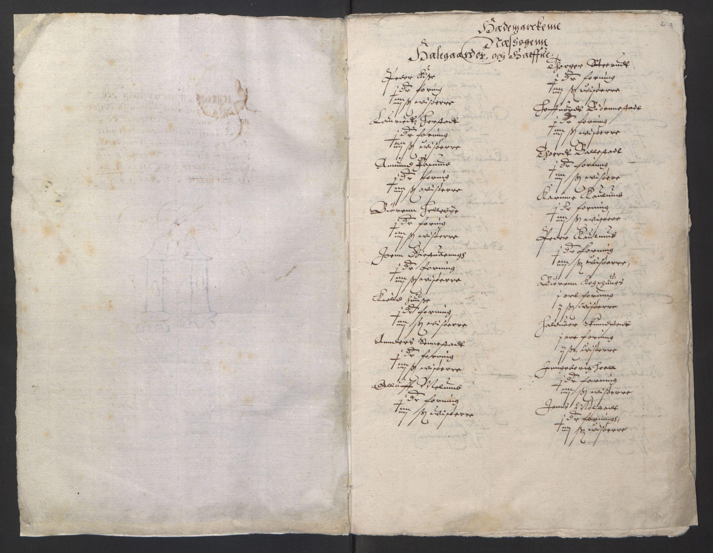 RA, Stattholderembetet 1572-1771, Ek/L0001: Jordebøker før 1624 og til utligning av garnisonsskatt 1624-1626:, 1624-1625, s. 43