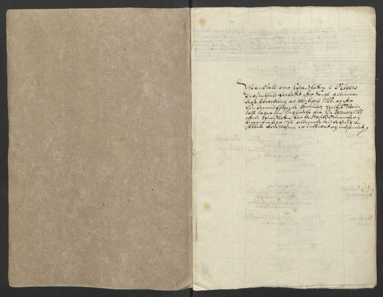RA, Rentekammeret inntil 1814, Reviderte regnskaper, Fogderegnskap, R31/L1834: Ekstraskatten Hurum, Røyken, Eiker, Lier og Buskerud, 1765, s. 95