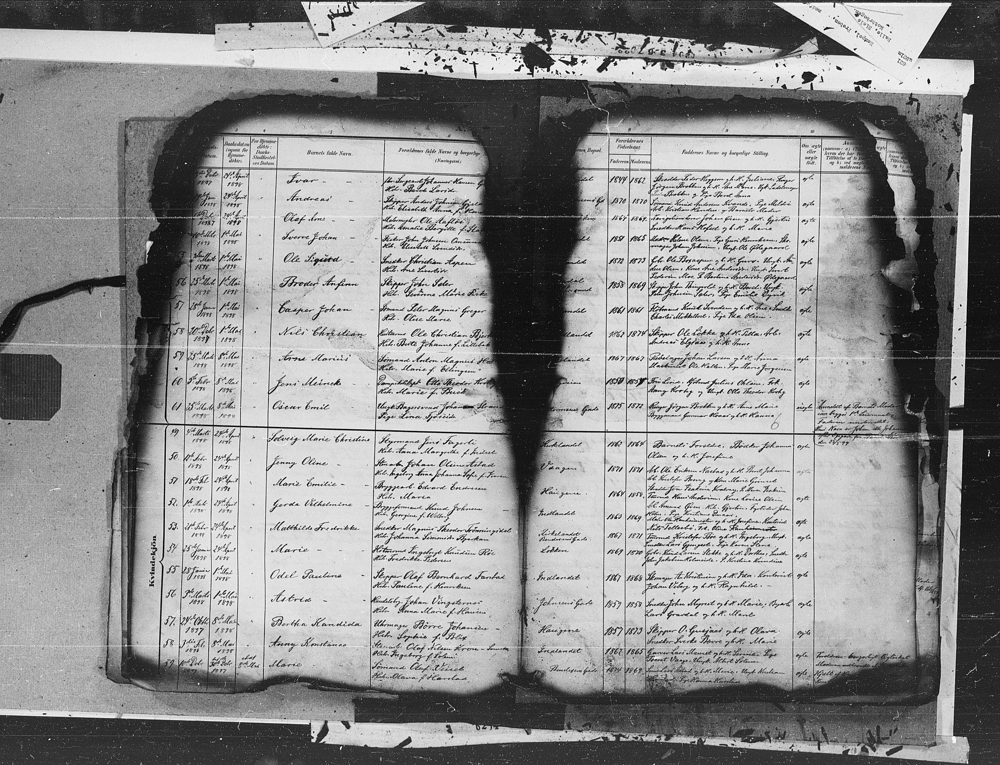 SAT, Ministerialprotokoller, klokkerbøker og fødselsregistre - Møre og Romsdal, 572/L0855: Ministerialbok nr. 572A18, 1898-1913, s. 6