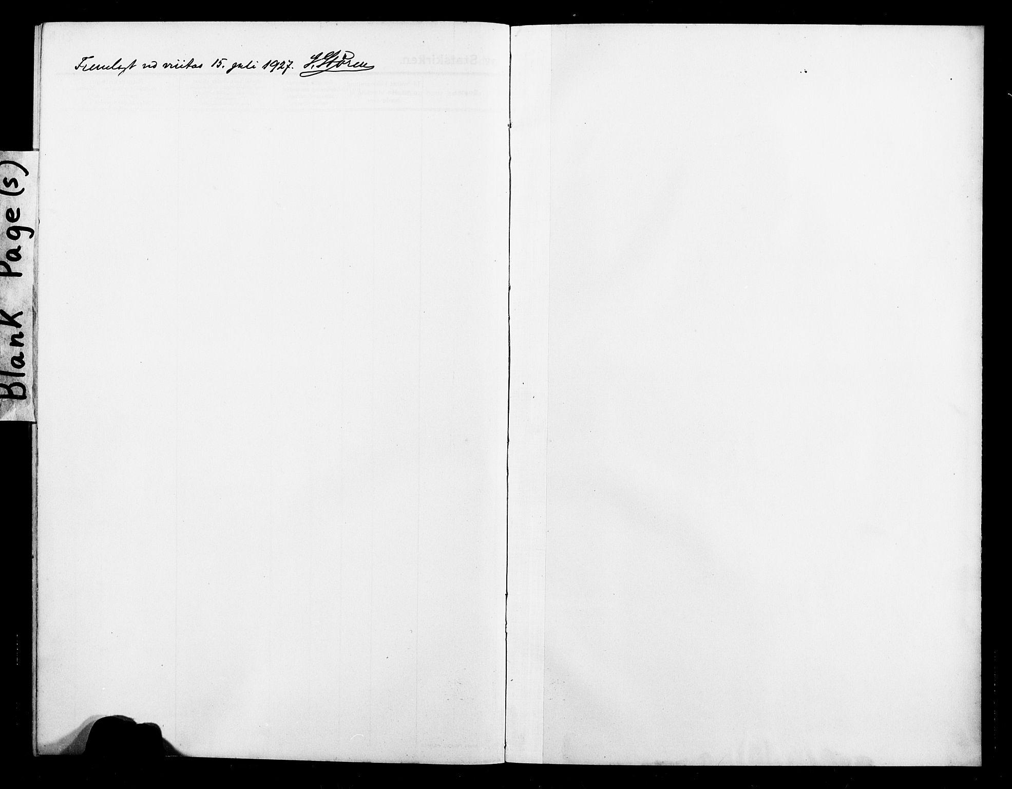 SATØ, Balsfjord sokneprestembete, Klokkerbok nr. 4, 1910-1926