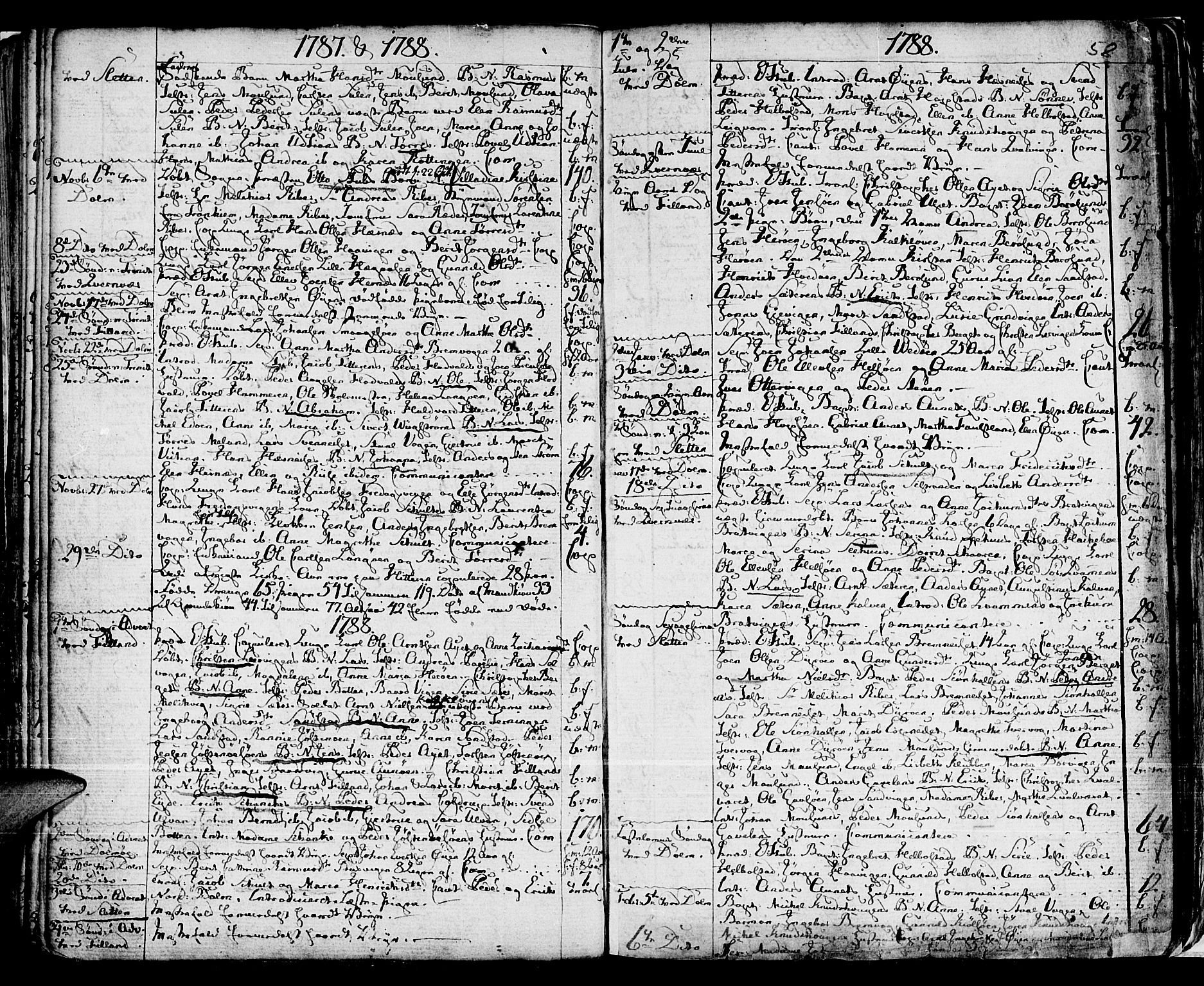 SAT, Ministerialprotokoller, klokkerbøker og fødselsregistre - Sør-Trøndelag, 634/L0526: Ministerialbok nr. 634A02, 1775-1818, s. 58