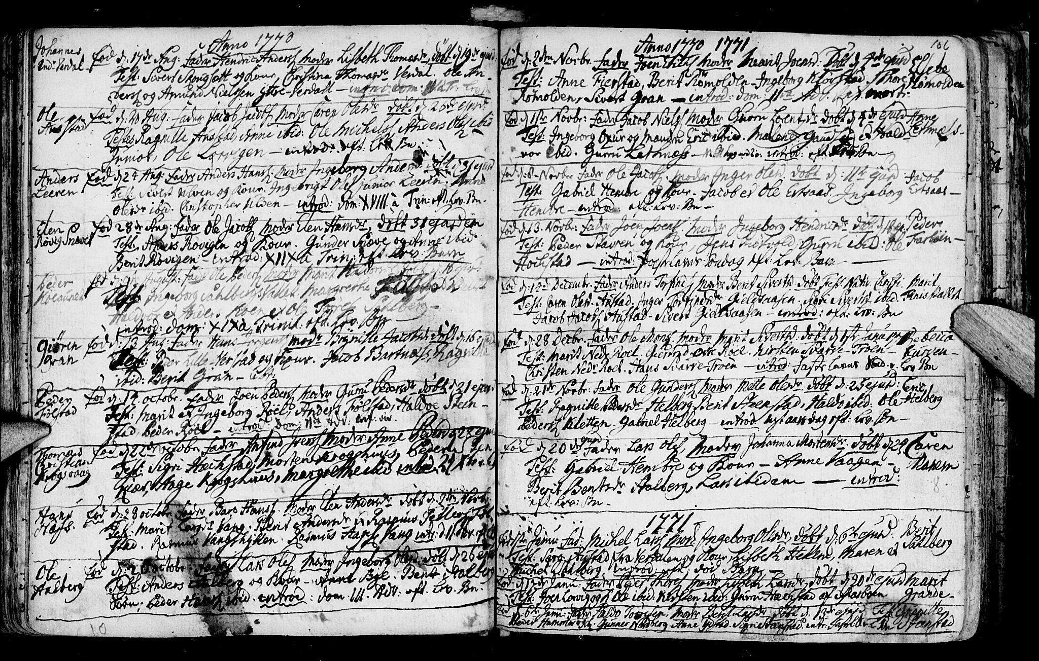 SAT, Ministerialprotokoller, klokkerbøker og fødselsregistre - Nord-Trøndelag, 730/L0273: Ministerialbok nr. 730A02, 1762-1802, s. 106