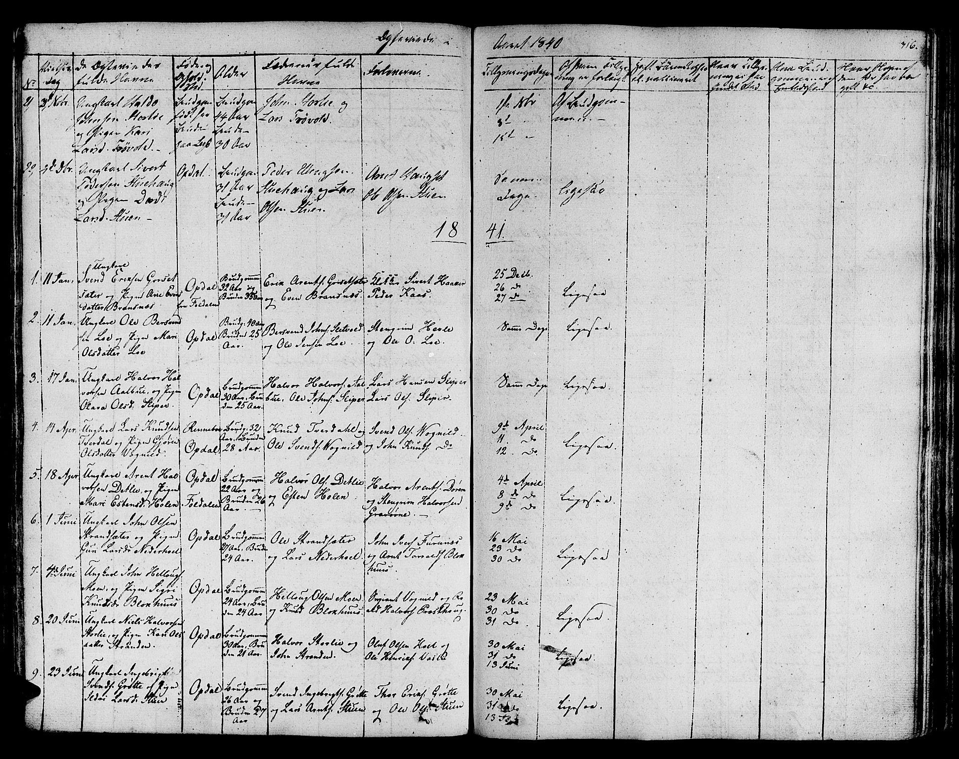 SAT, Ministerialprotokoller, klokkerbøker og fødselsregistre - Sør-Trøndelag, 678/L0897: Ministerialbok nr. 678A06-07, 1821-1847, s. 316