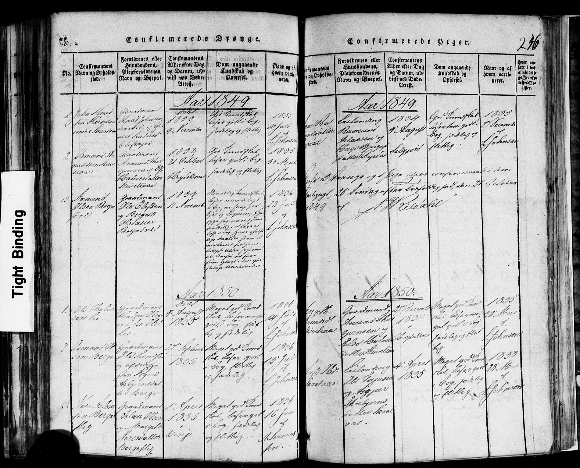 SAKO, Rauland kirkebøker, F/Fa/L0002: Ministerialbok nr. 2, 1815-1860, s. 256