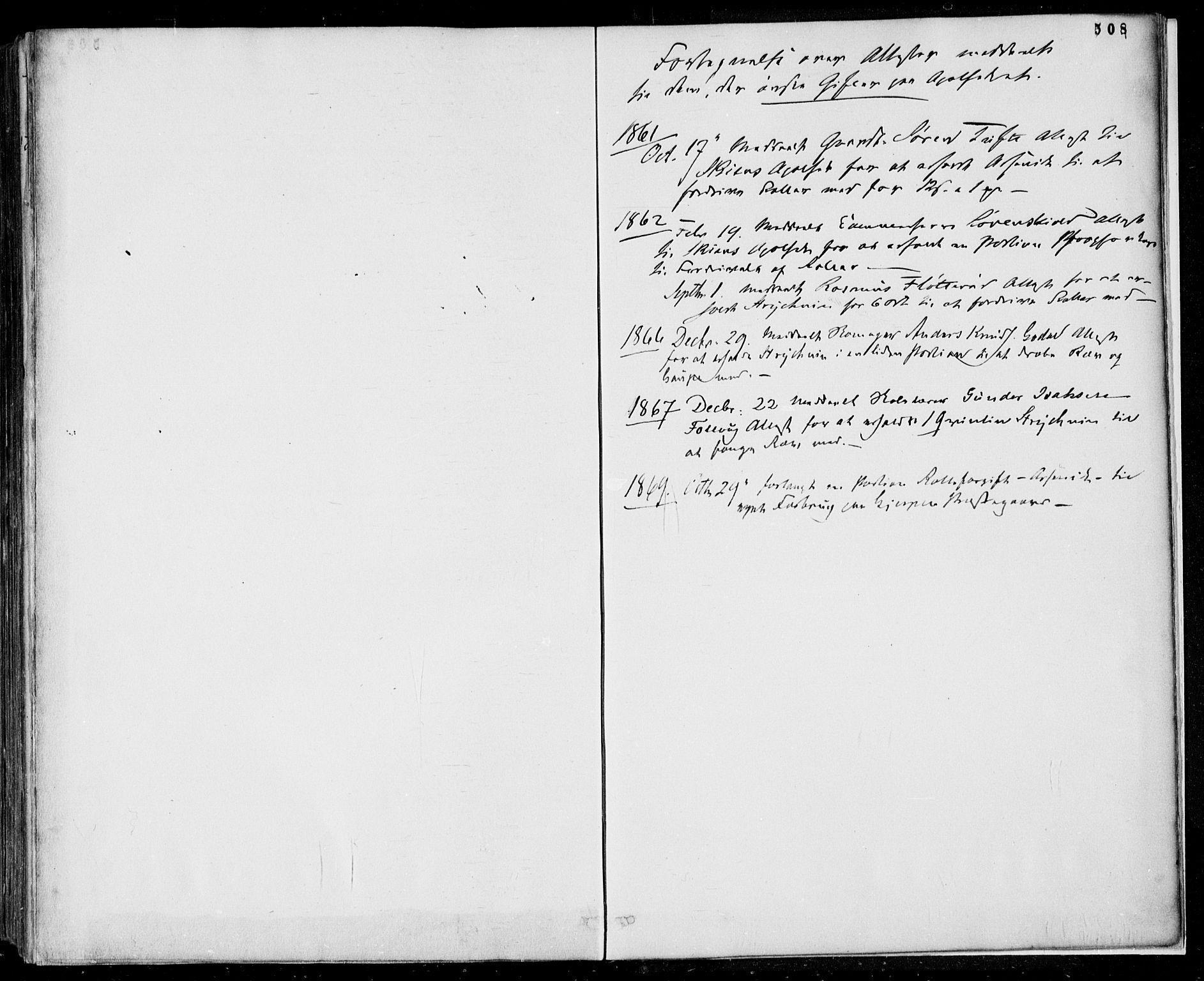 SAKO, Gjerpen kirkebøker, F/Fa/L0008b: Ministerialbok nr. 8B, 1857-1871, s. 508