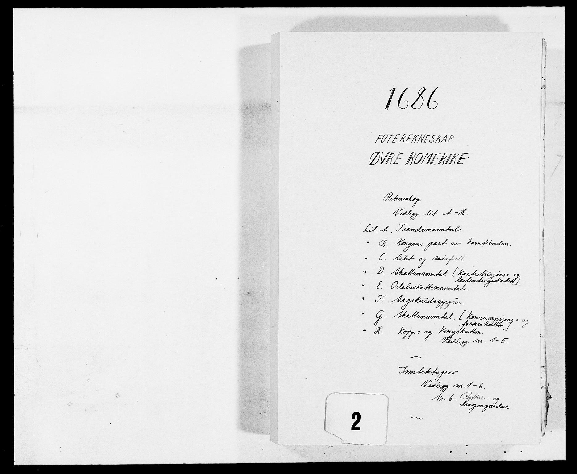 RA, Rentekammeret inntil 1814, Reviderte regnskaper, Fogderegnskap, R12/L0699: Fogderegnskap Øvre Romerike, 1685-1686, s. 157