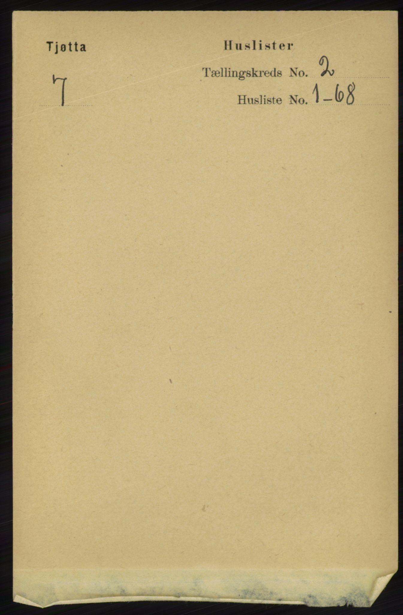 RA, Folketelling 1891 for 1817 Tjøtta herred, 1891, s. 824