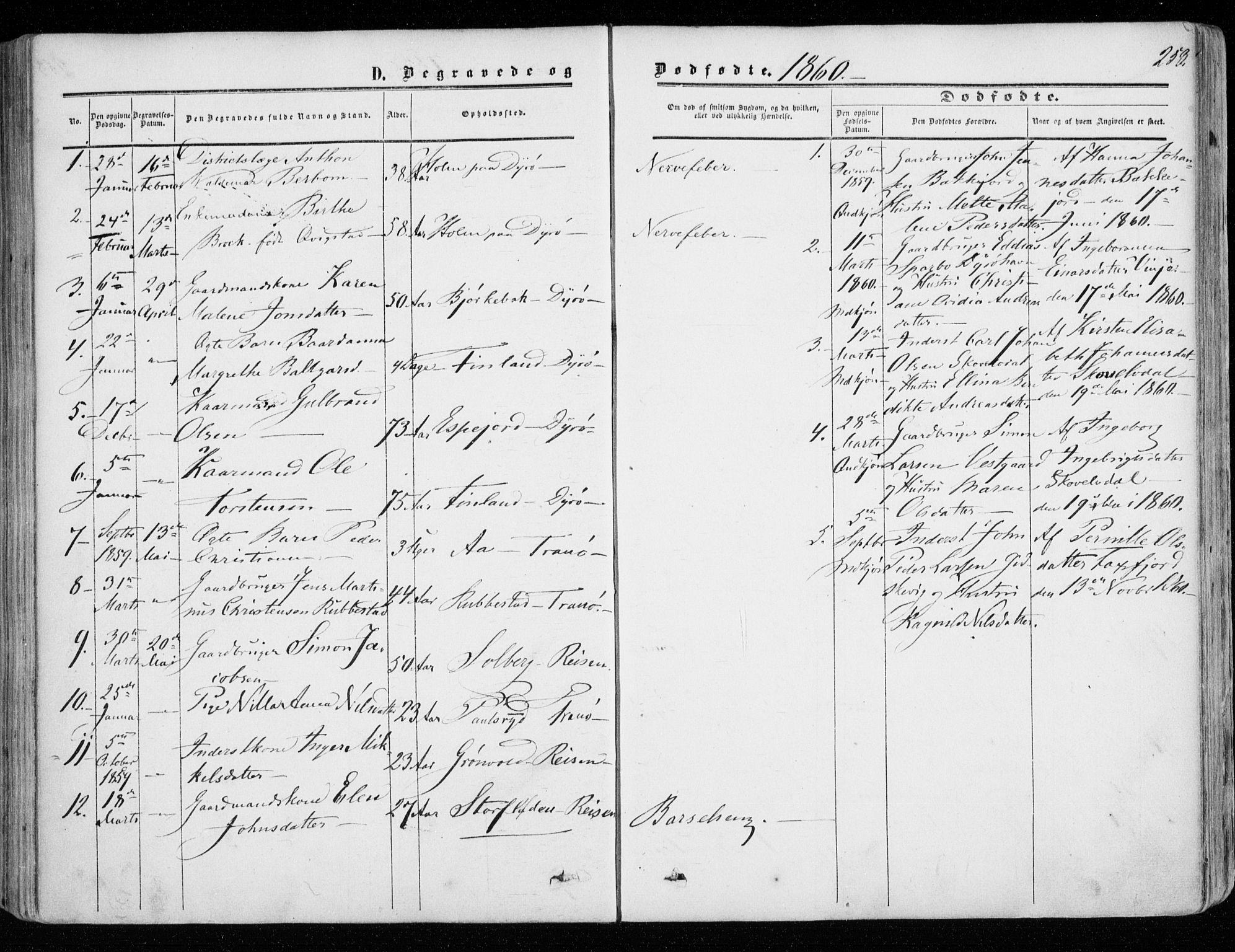 SATØ, Tranøy sokneprestkontor, I/Ia/Iaa/L0007kirke: Ministerialbok nr. 7, 1856-1866, s. 258