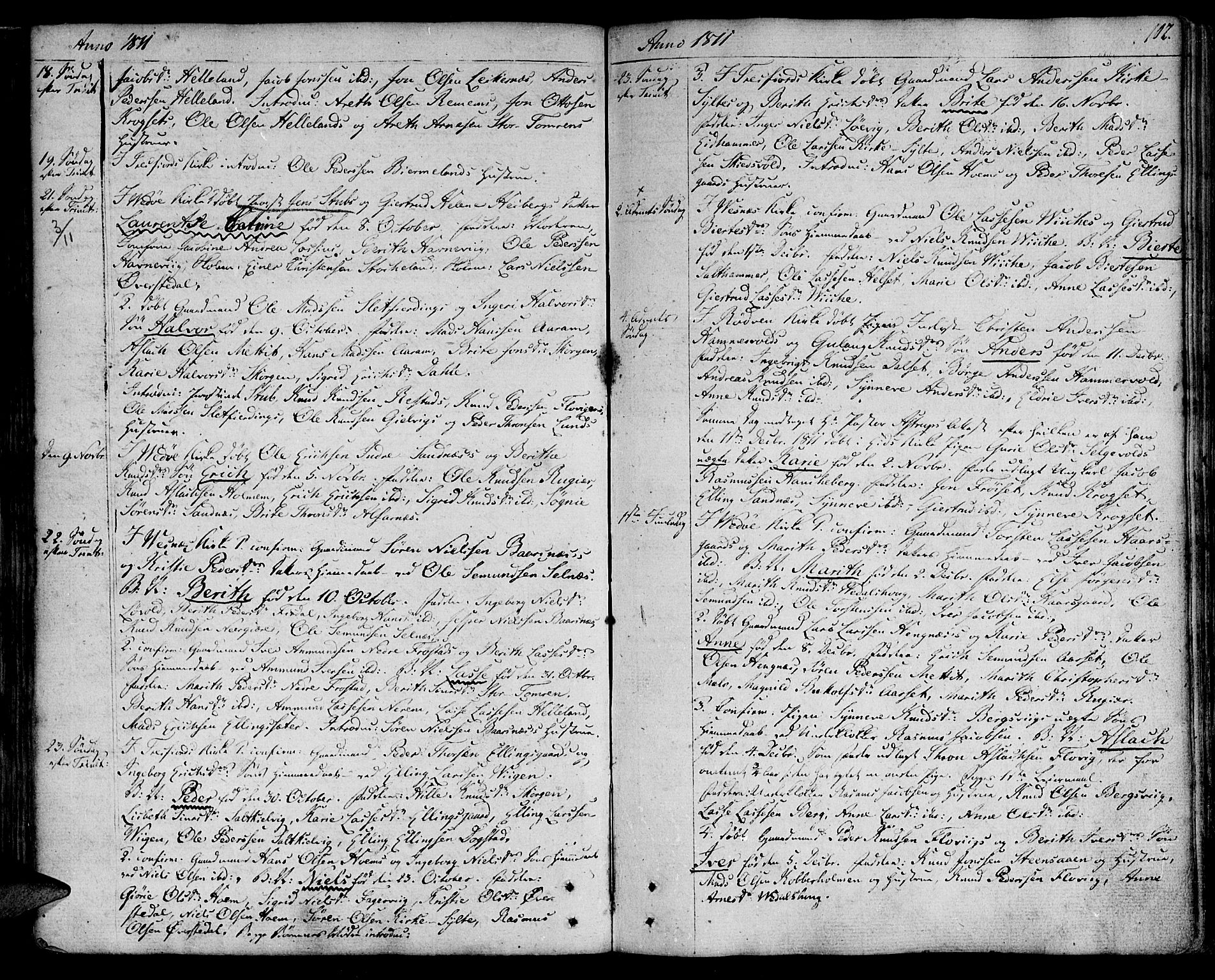 SAT, Ministerialprotokoller, klokkerbøker og fødselsregistre - Møre og Romsdal, 547/L0601: Ministerialbok nr. 547A03, 1799-1818, s. 102