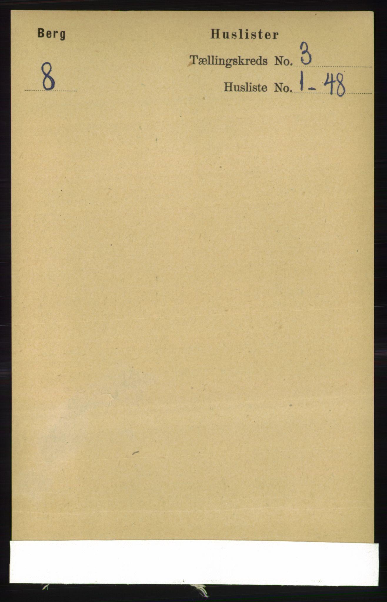 RA, Folketelling 1891 for 1929 Berg herred, 1891, s. 971