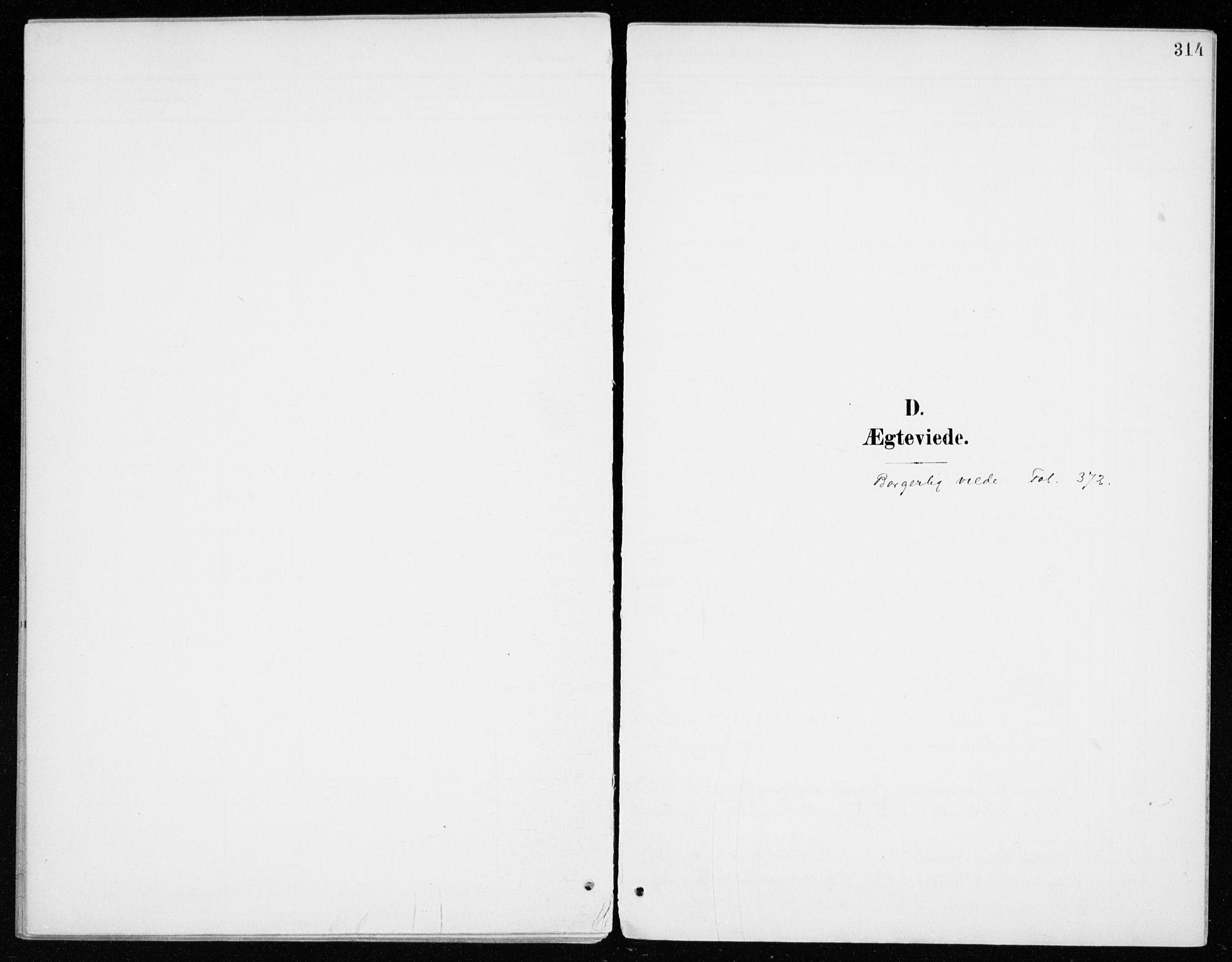 SAH, Vang prestekontor, Hedmark, H/Ha/Haa/L0021: Ministerialbok nr. 21, 1902-1917, s. 314