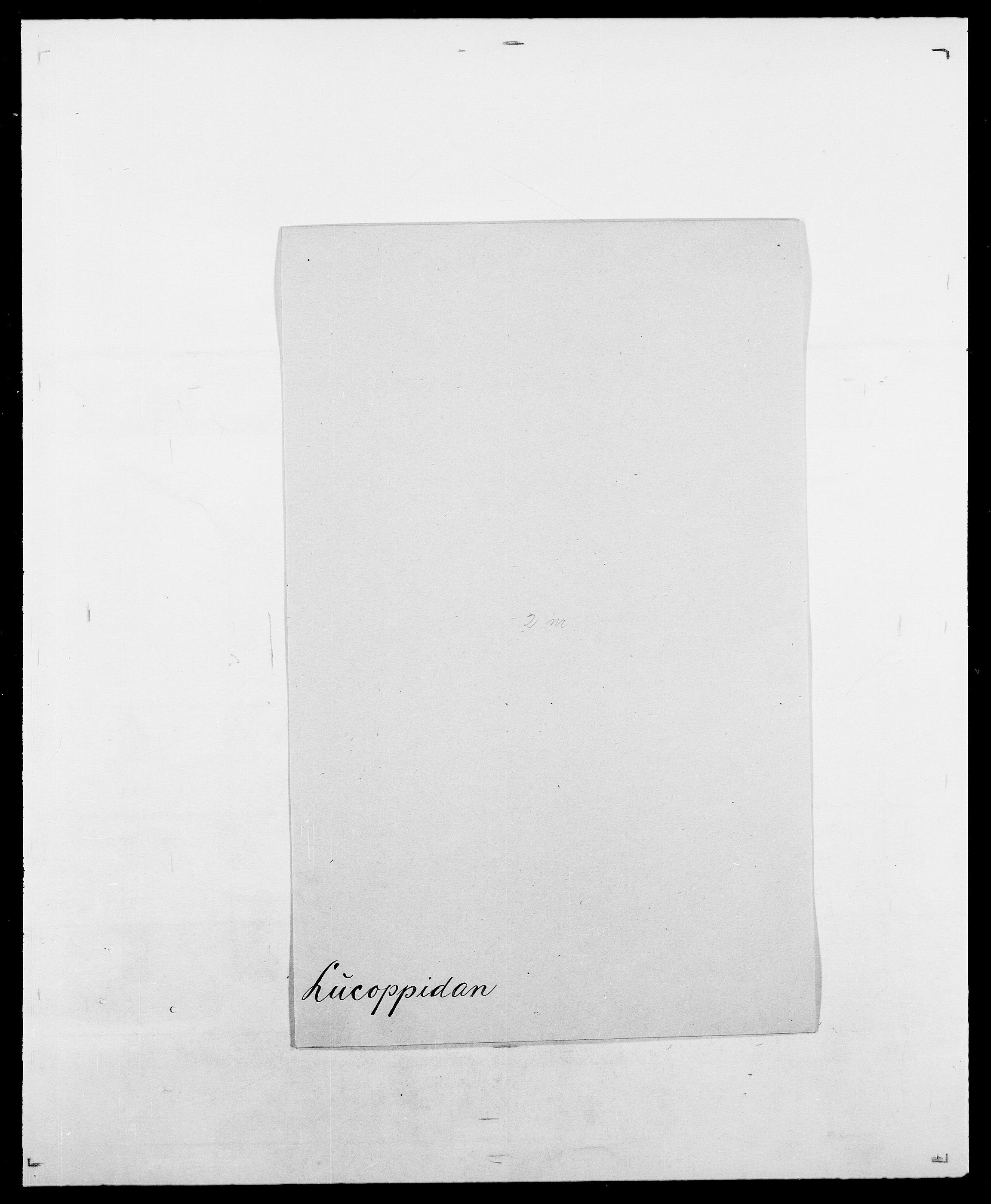 SAO, Delgobe, Charles Antoine - samling, D/Da/L0024: Lobech - Lærum, s. 363