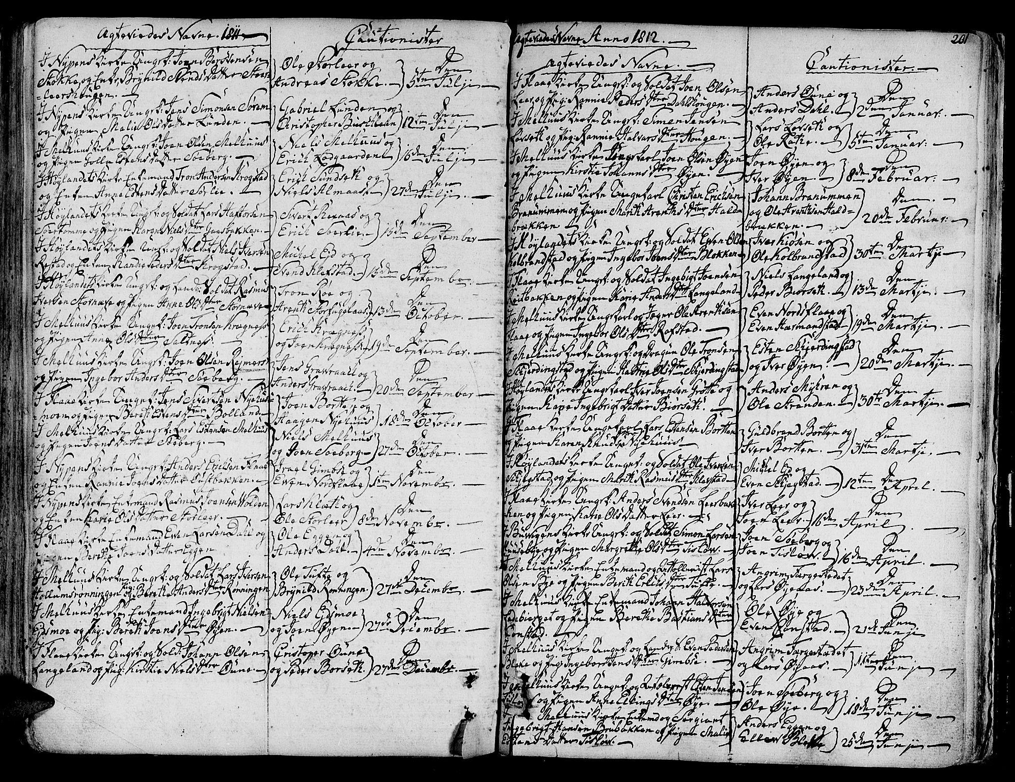 SAT, Ministerialprotokoller, klokkerbøker og fødselsregistre - Sør-Trøndelag, 691/L1061: Ministerialbok nr. 691A02 /1, 1768-1815, s. 201