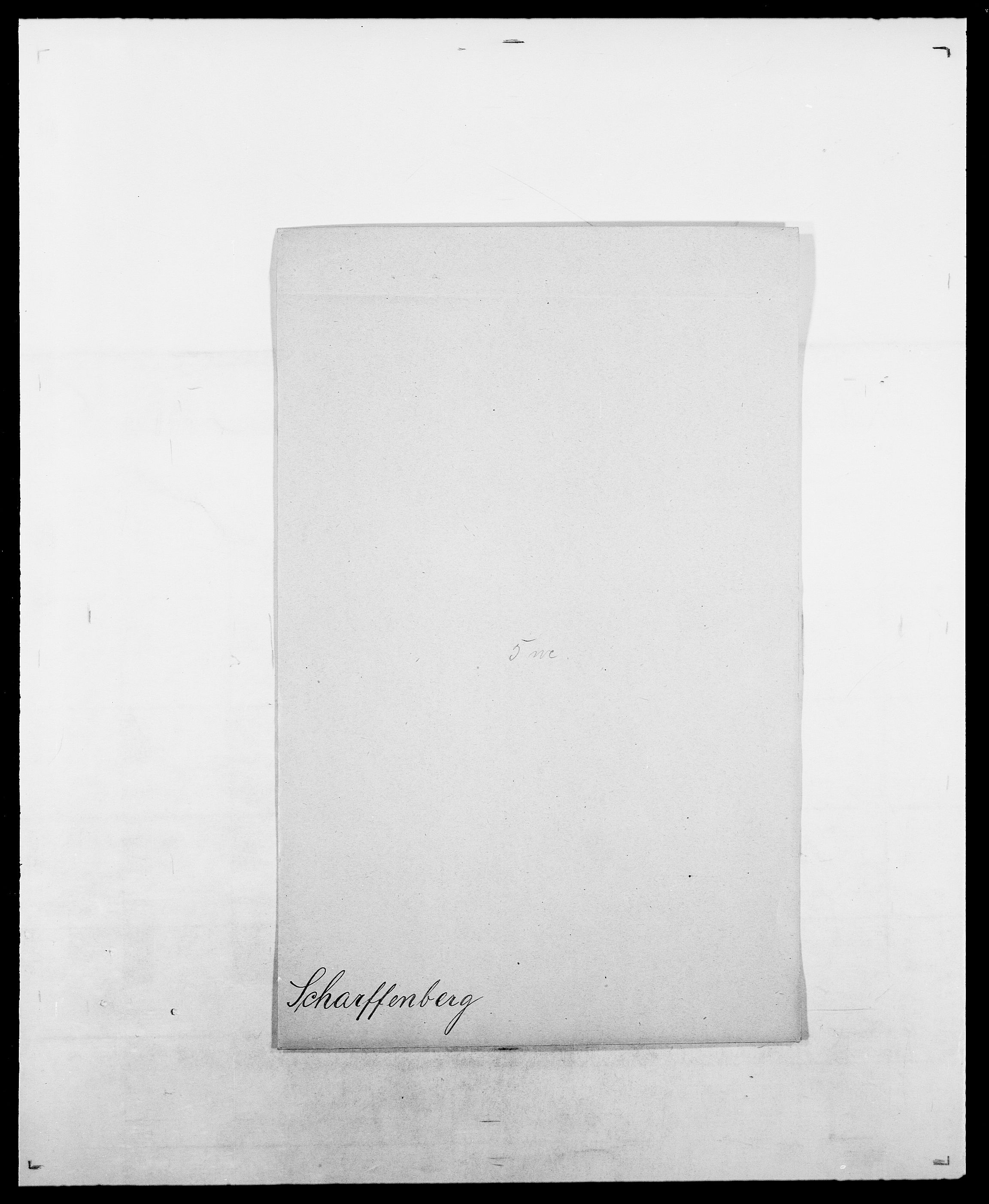 SAO, Delgobe, Charles Antoine - samling, D/Da/L0034: Saabye - Schmincke, s. 404