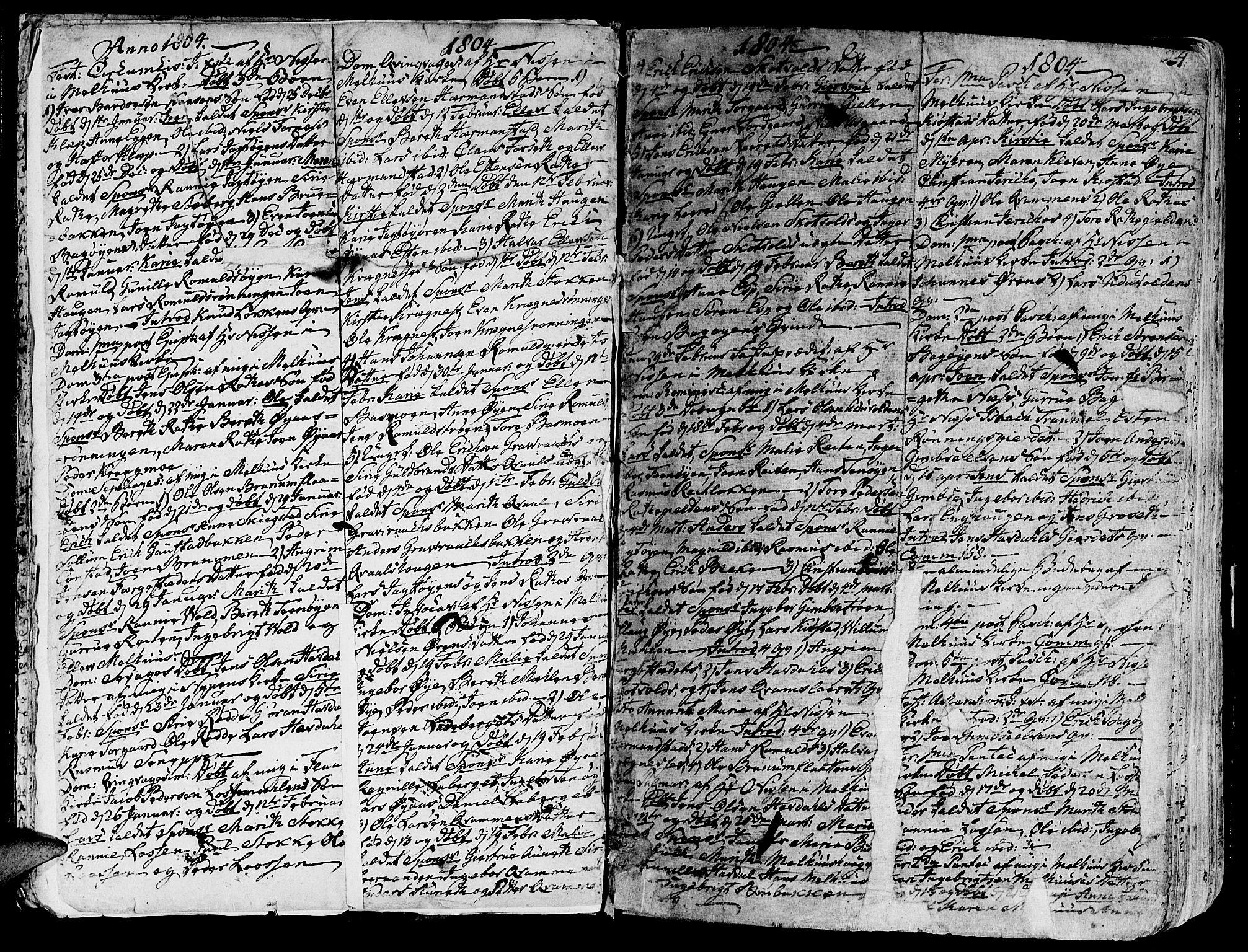 SAT, Ministerialprotokoller, klokkerbøker og fødselsregistre - Sør-Trøndelag, 691/L1061: Ministerialbok nr. 691A02 /1, 1768-1815, s. 24
