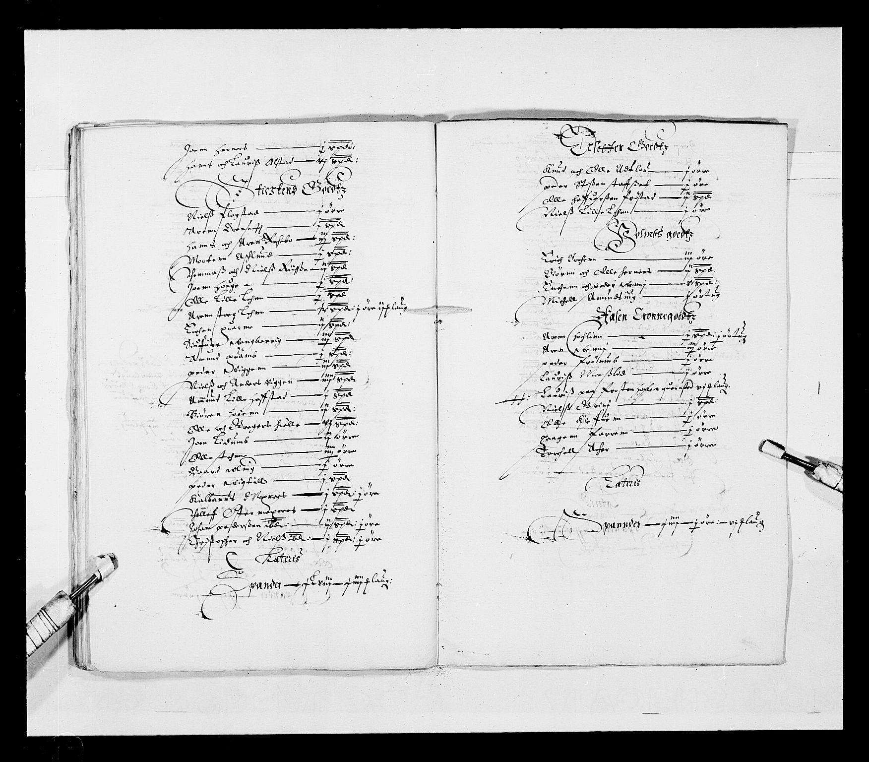 RA, Stattholderembetet 1572-1771, Ek/L0028: Jordebøker 1633-1658:, 1645-1646, s. 158