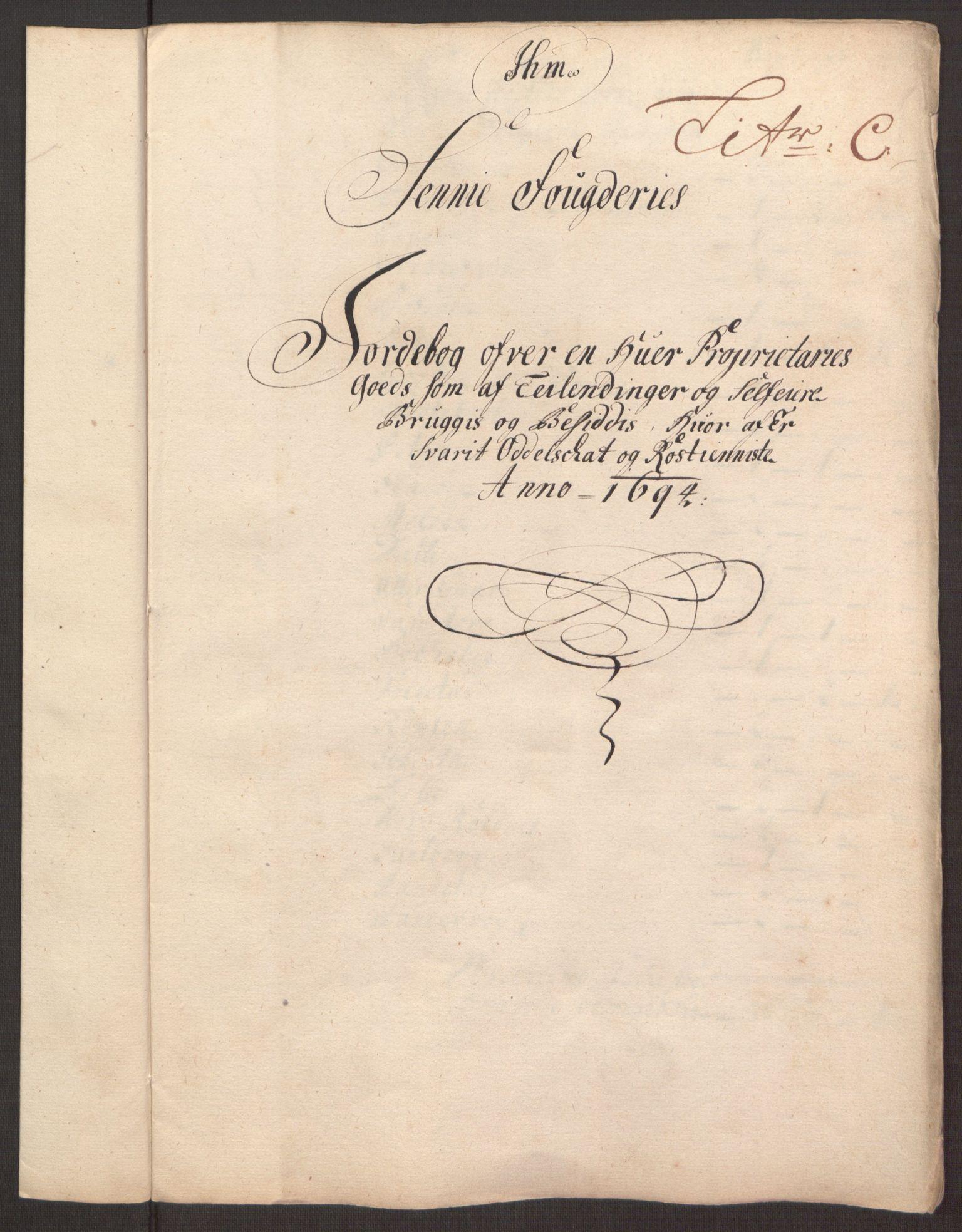RA, Rentekammeret inntil 1814, Reviderte regnskaper, Fogderegnskap, R68/L4753: Fogderegnskap Senja og Troms, 1694-1696, s. 45
