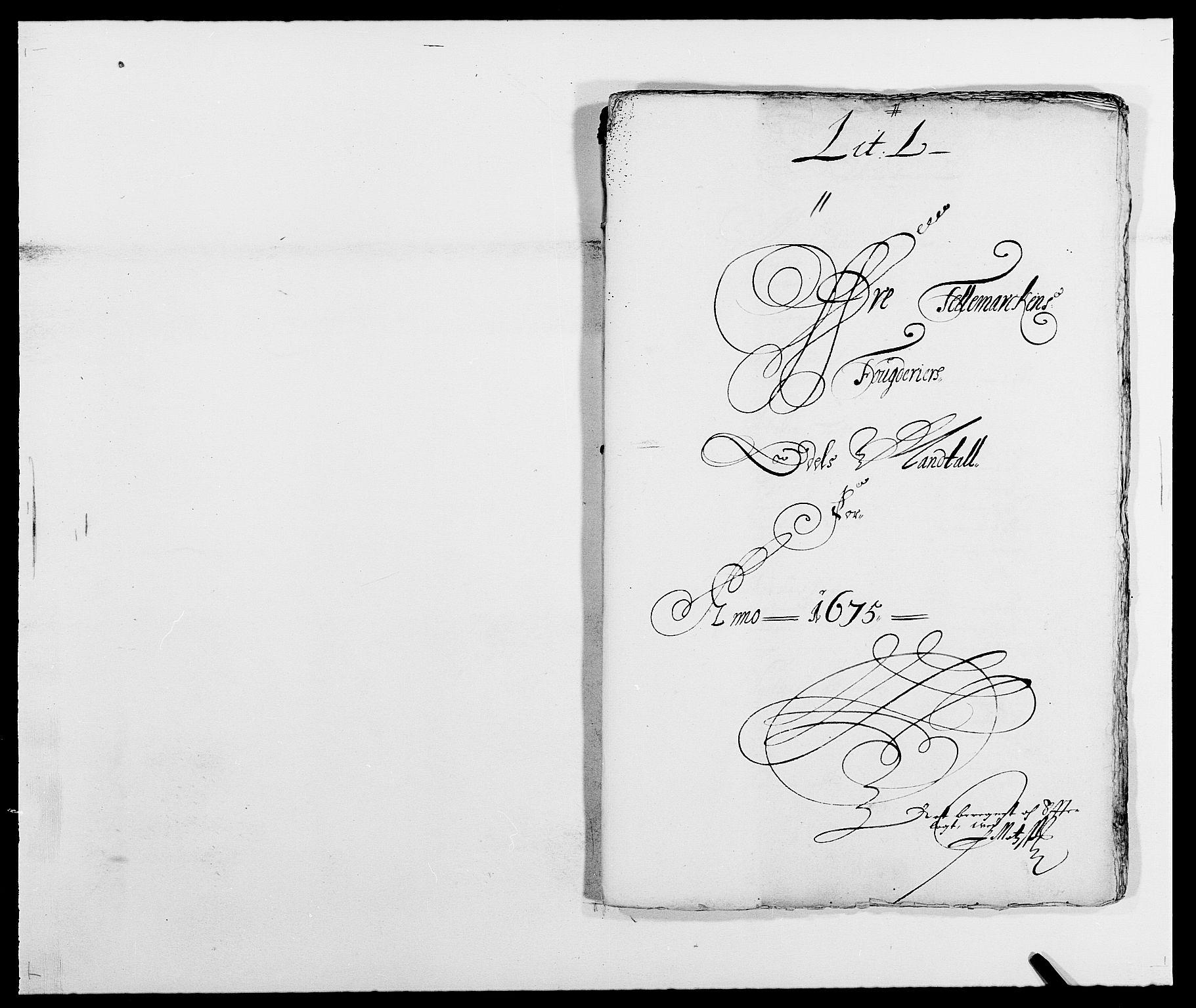 RA, Rentekammeret inntil 1814, Reviderte regnskaper, Fogderegnskap, R35/L2063: Fogderegnskap Øvre og Nedre Telemark, 1675, s. 314