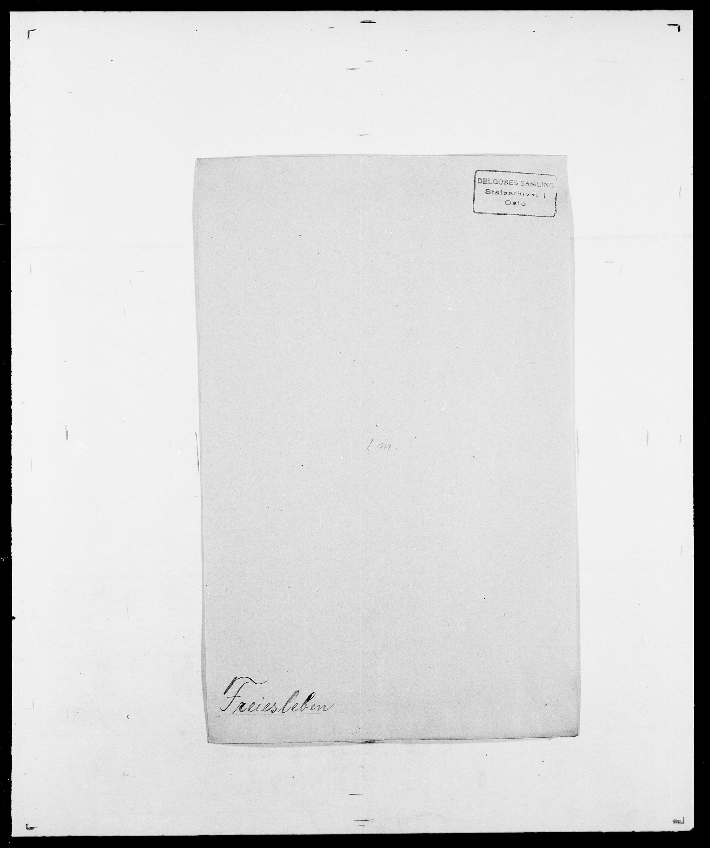SAO, Delgobe, Charles Antoine - samling, D/Da/L0012: Flor, Floer, Flohr - Fritzner, s. 735