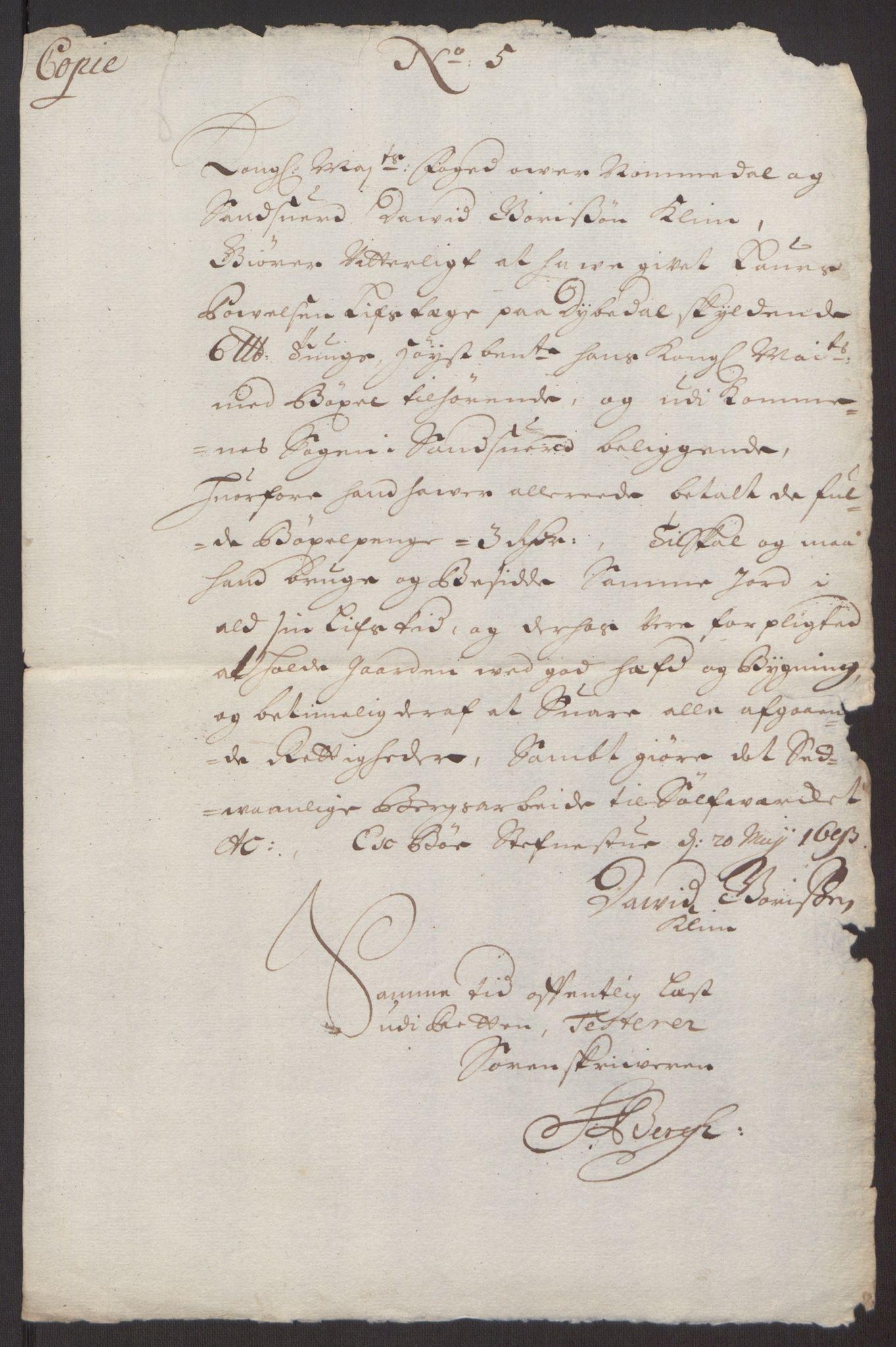RA, Rentekammeret inntil 1814, Reviderte regnskaper, Fogderegnskap, R24/L1575: Fogderegnskap Numedal og Sandsvær, 1692-1695, s. 144