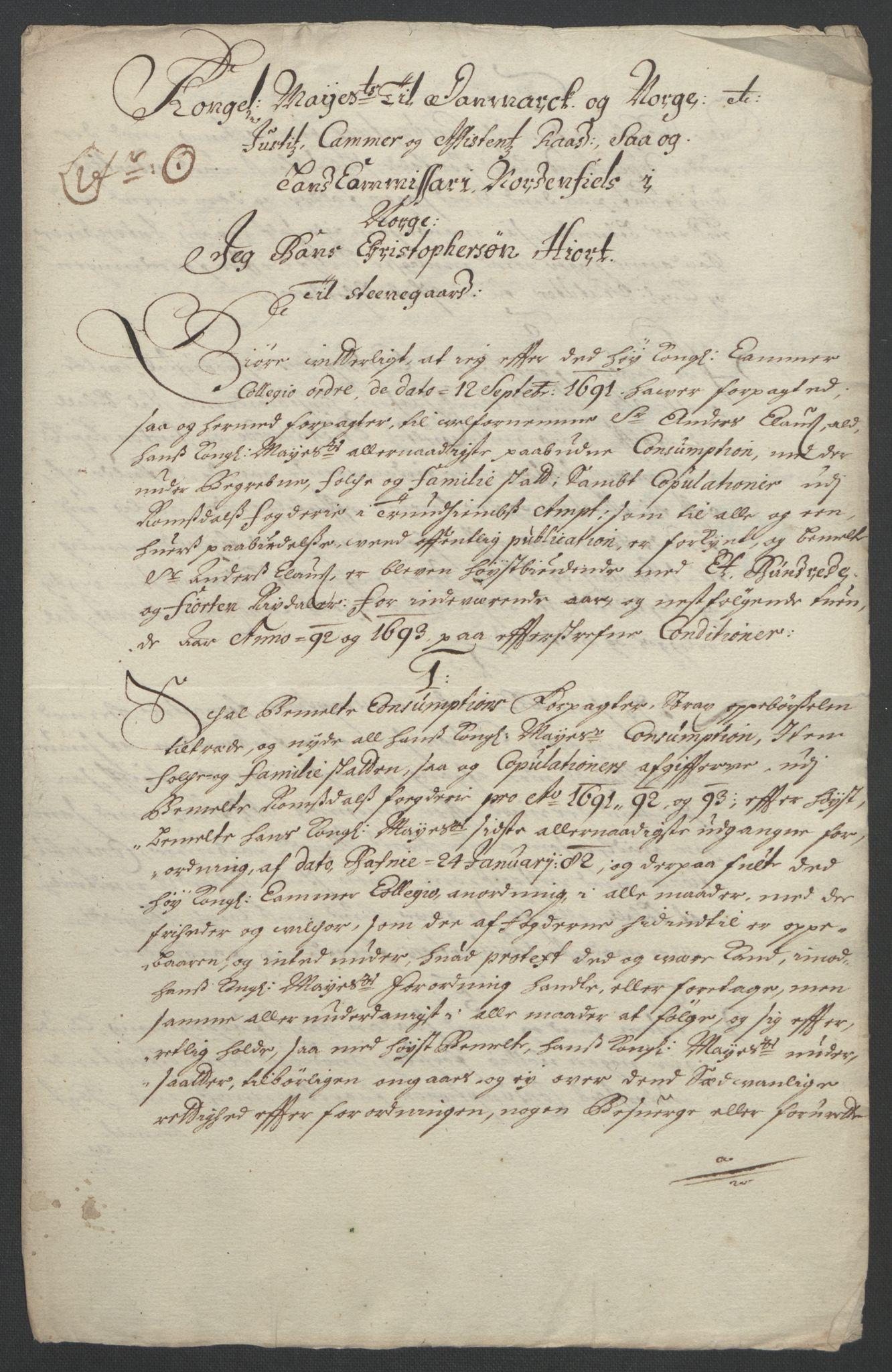 RA, Rentekammeret inntil 1814, Reviderte regnskaper, Fogderegnskap, R55/L3649: Fogderegnskap Romsdal, 1690-1691, s. 334
