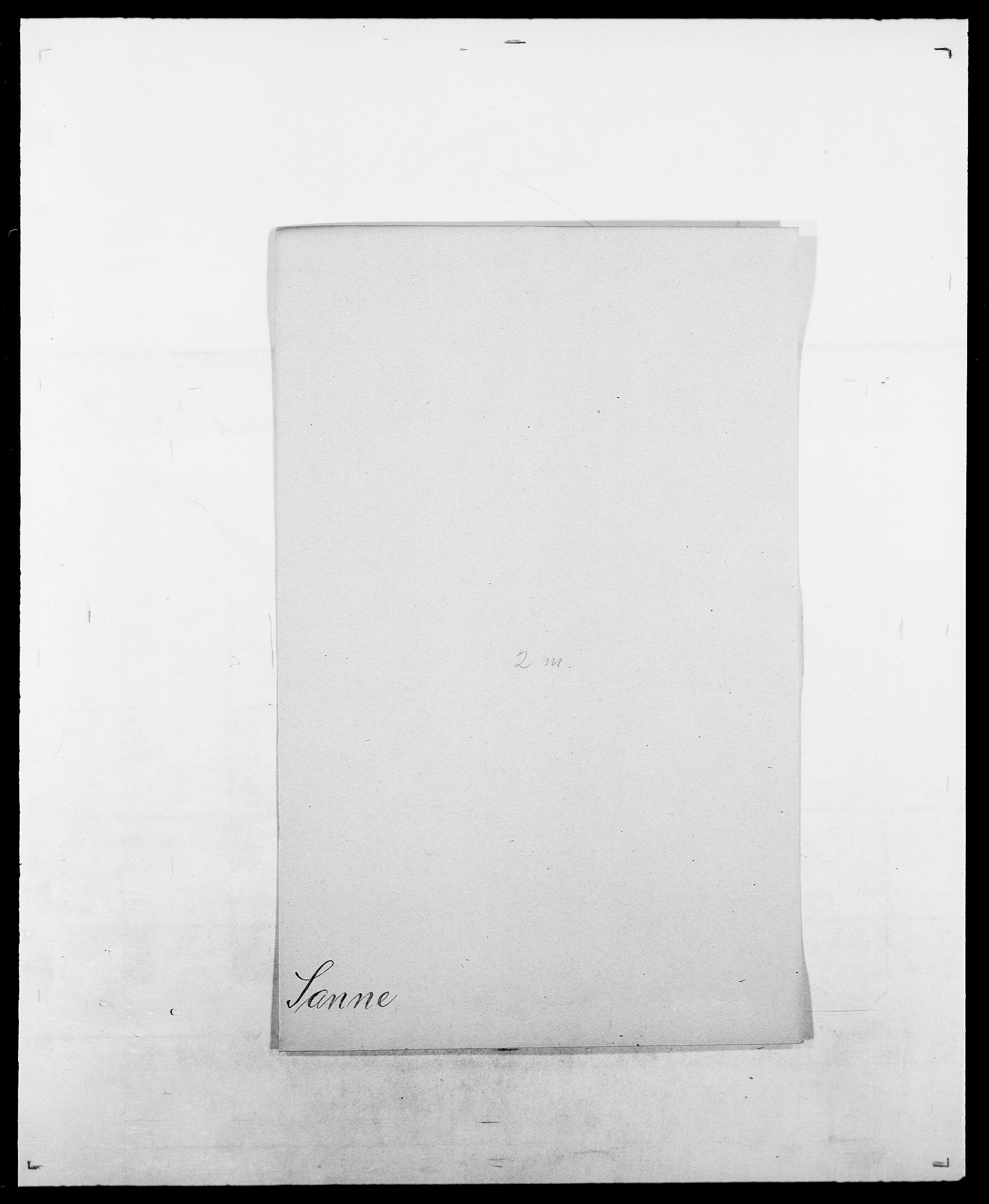 SAO, Delgobe, Charles Antoine - samling, D/Da/L0034: Saabye - Schmincke, s. 199
