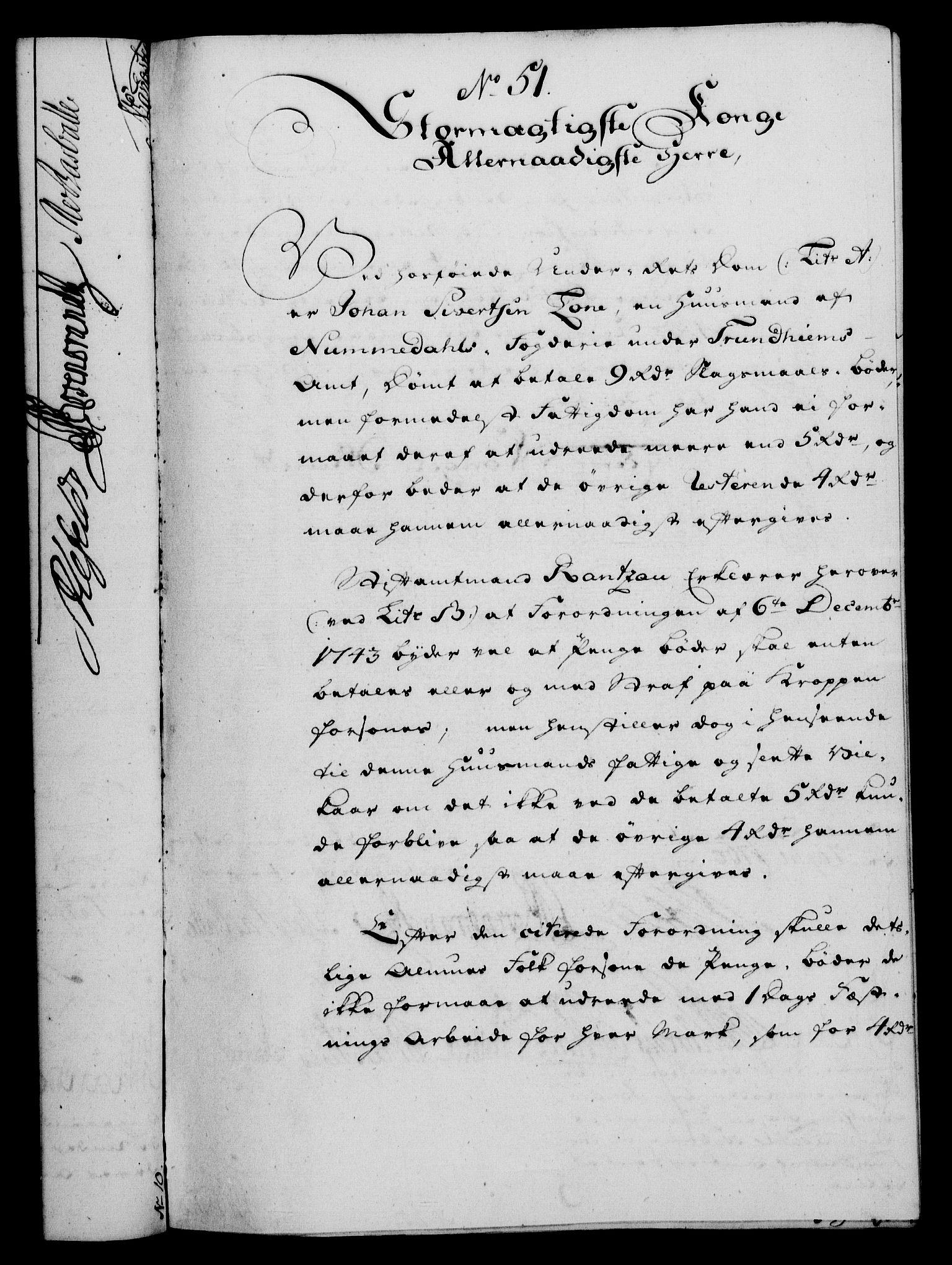 RA, Rentekammeret, Kammerkanselliet, G/Gf/Gfa/L0042: Norsk relasjons- og resolusjonsprotokoll (merket RK 52.42), 1760, s. 210