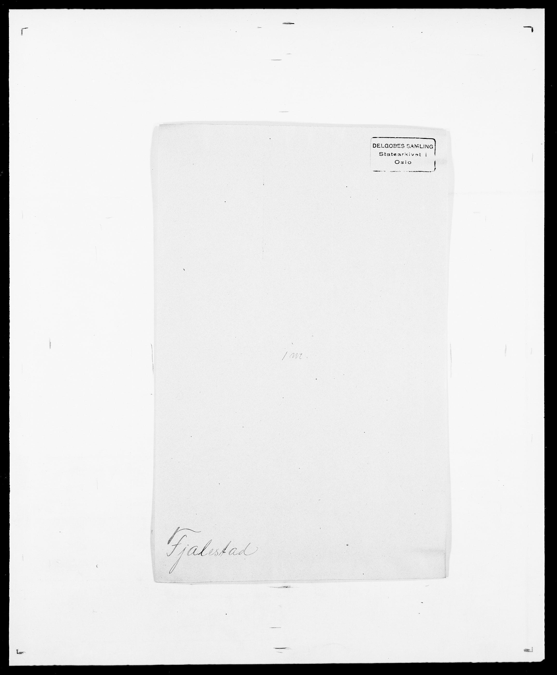 SAO, Delgobe, Charles Antoine - samling, D/Da/L0011: Fahlander - Flood, Flod, s. 552